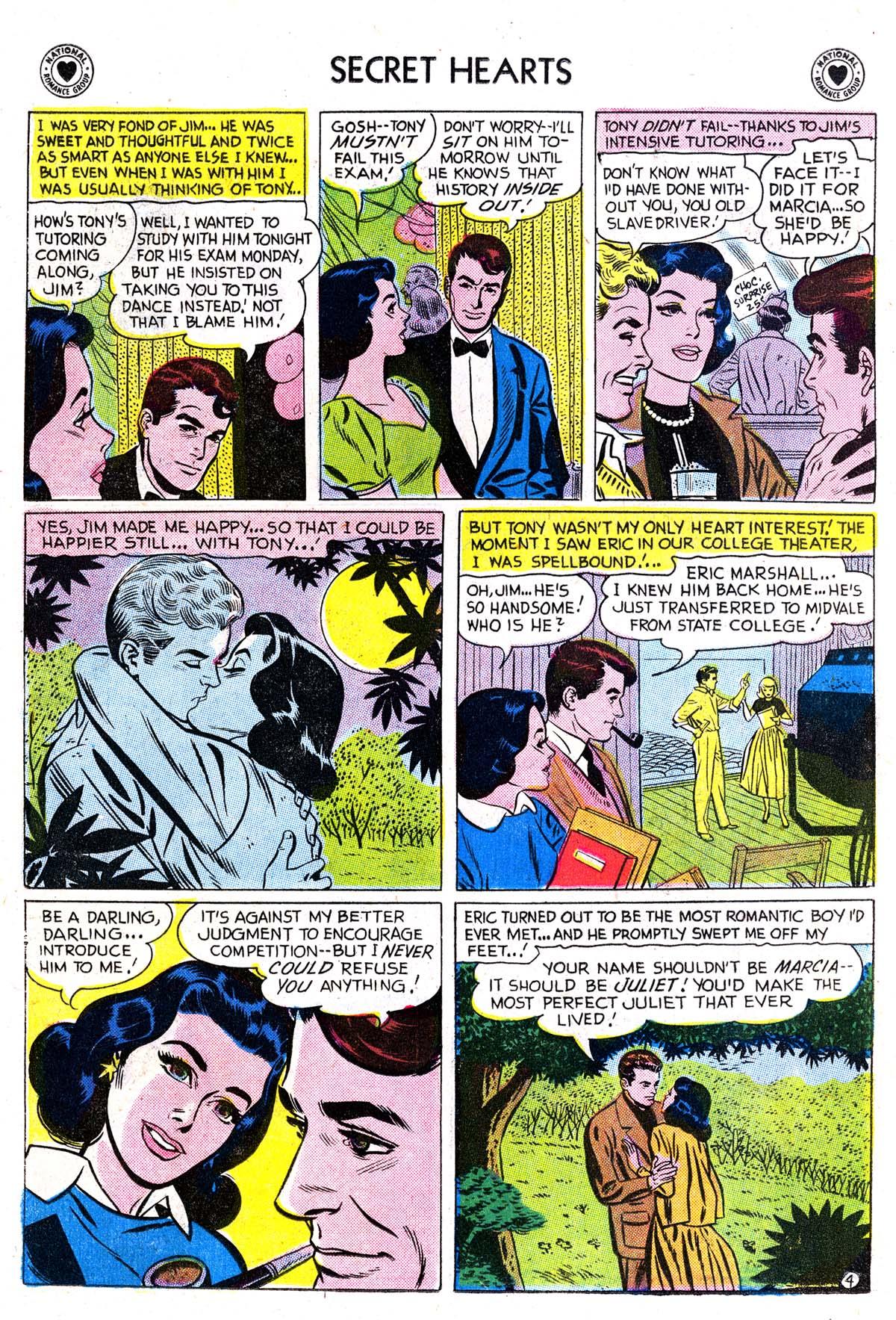 Read online Secret Hearts comic -  Issue #42 - 22