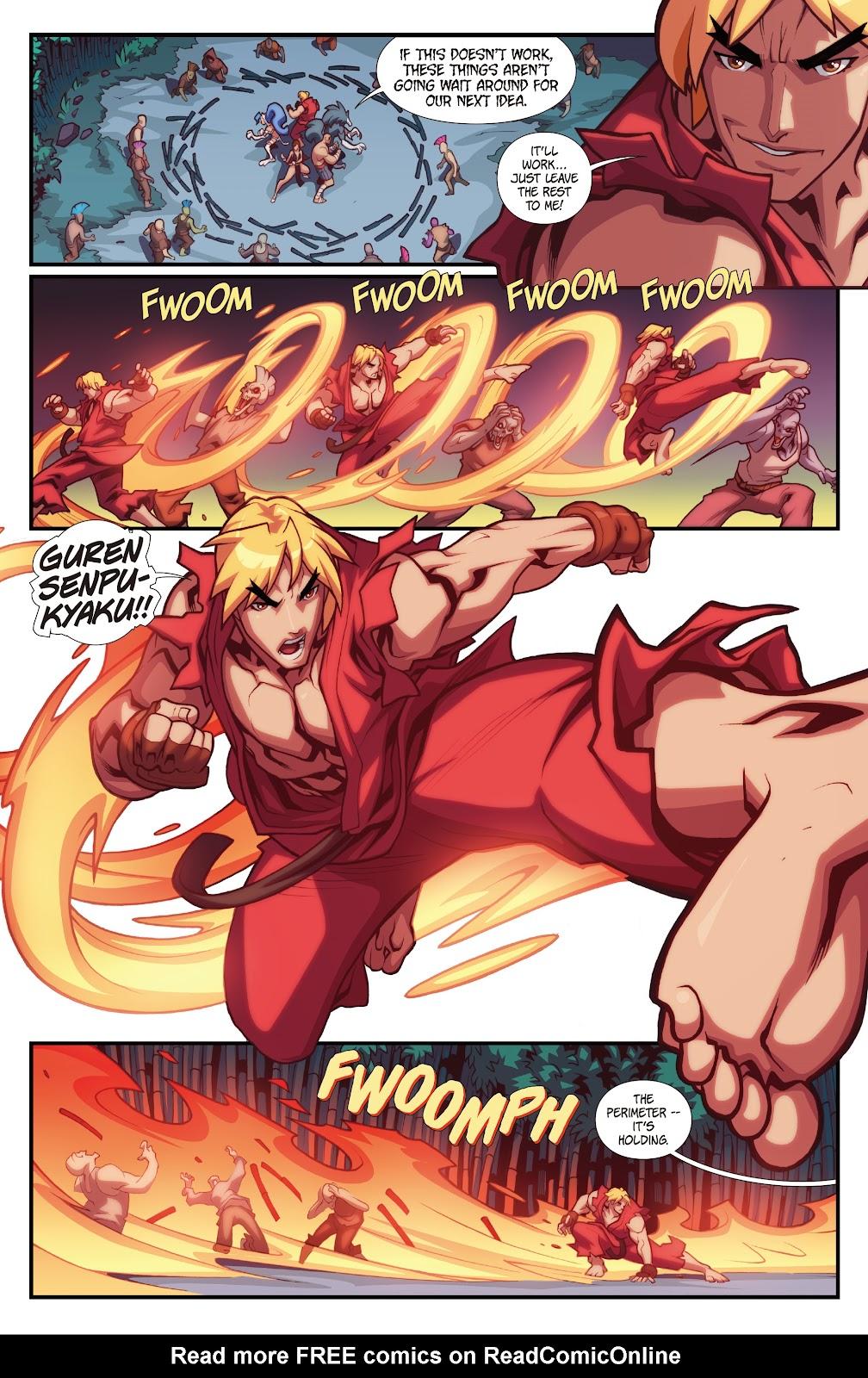 Street Fighter VS Darkstalkers Issue #2 #3 - English 16
