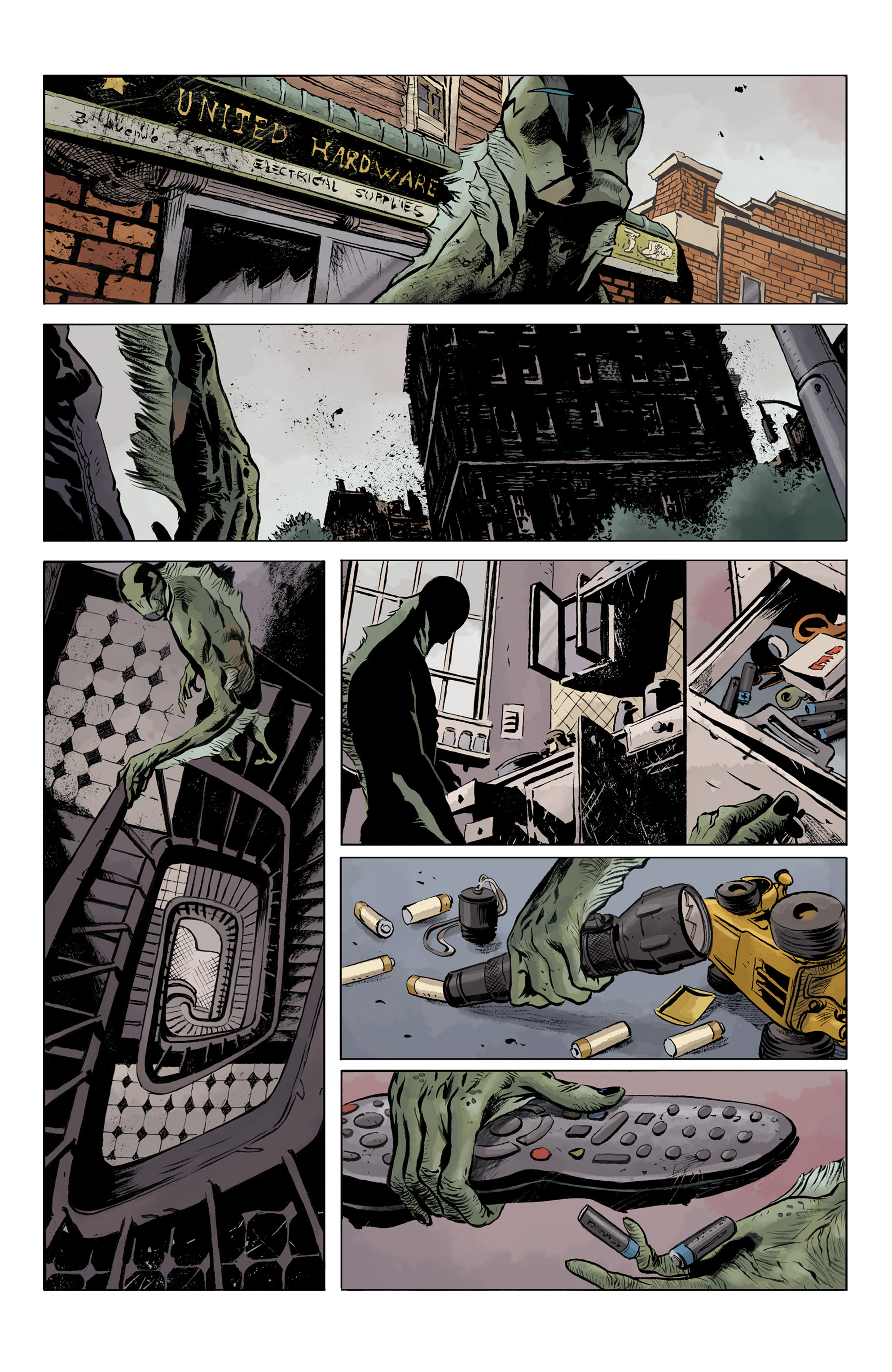 Read online Abe Sapien comic -  Issue #32 - 9