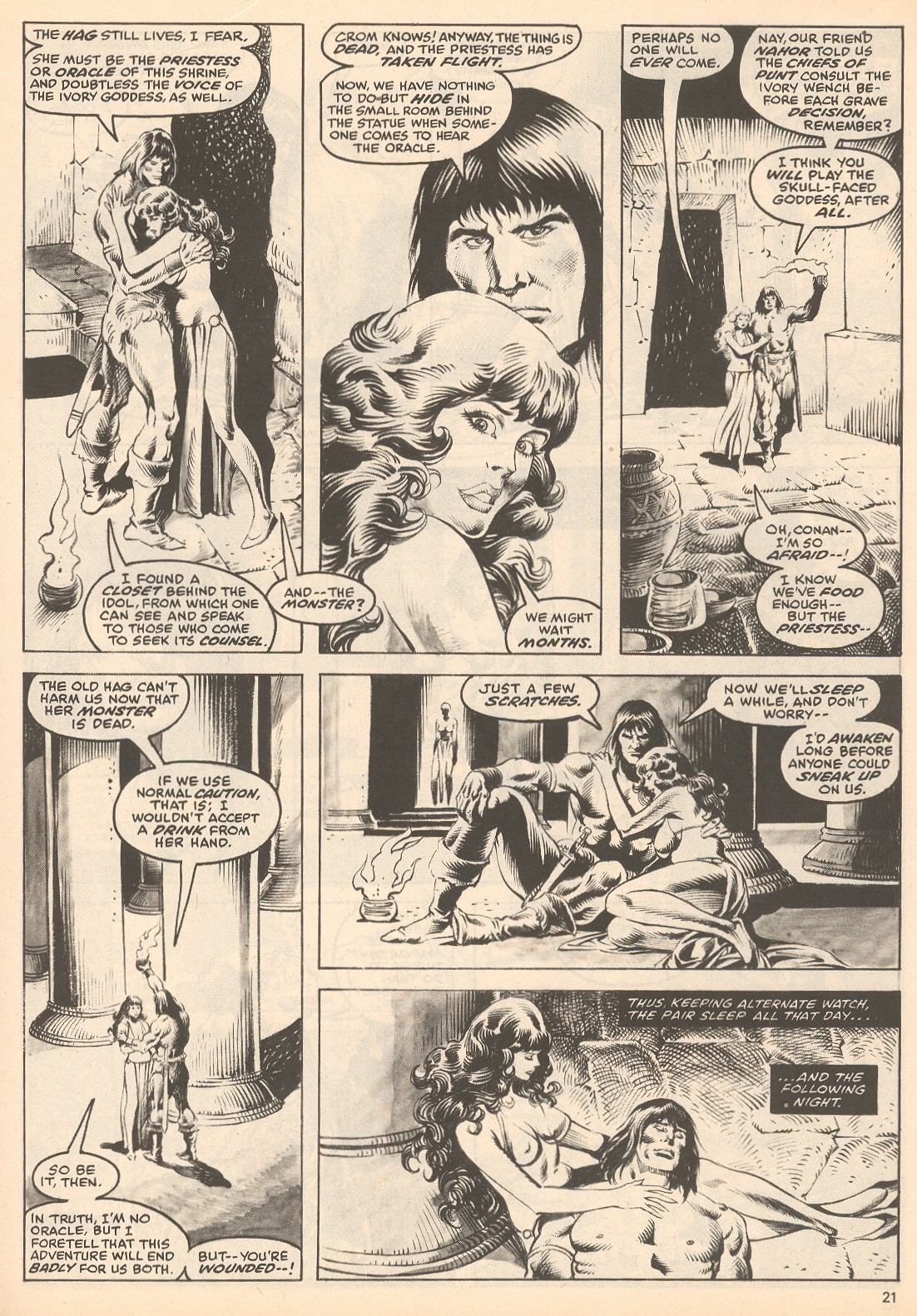 The Savage Sword Of Conan Issue #60 #61 - English 21