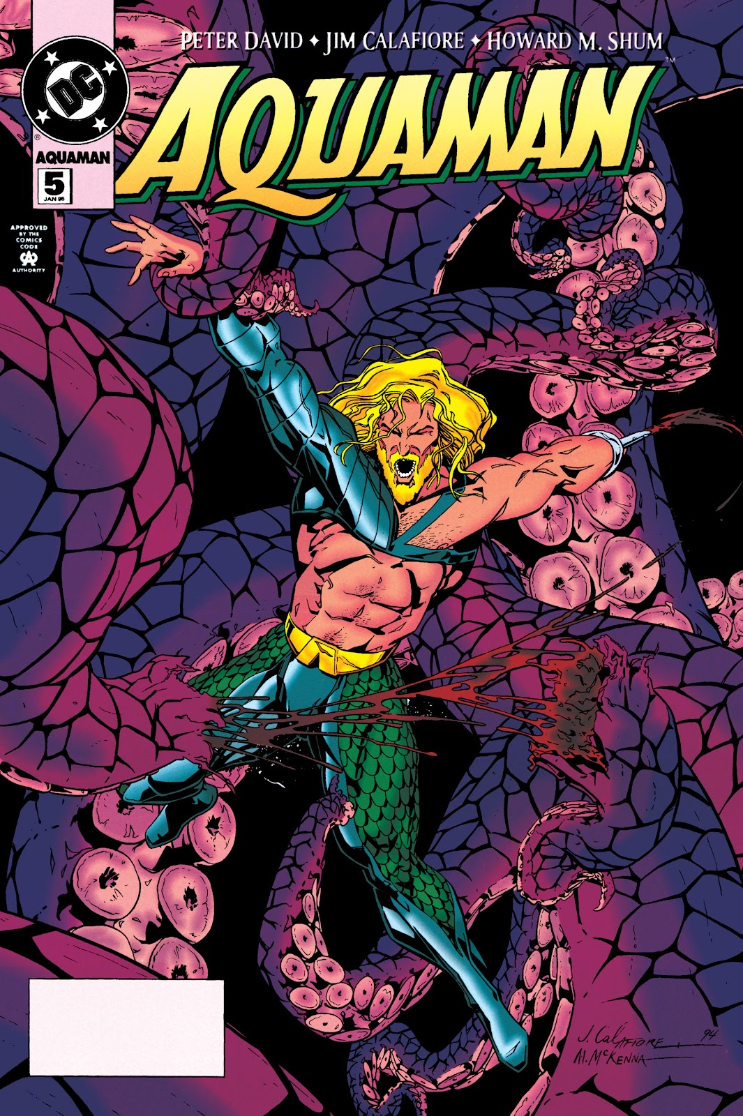 Aquaman (1994) Issue #5 #11 - English 1
