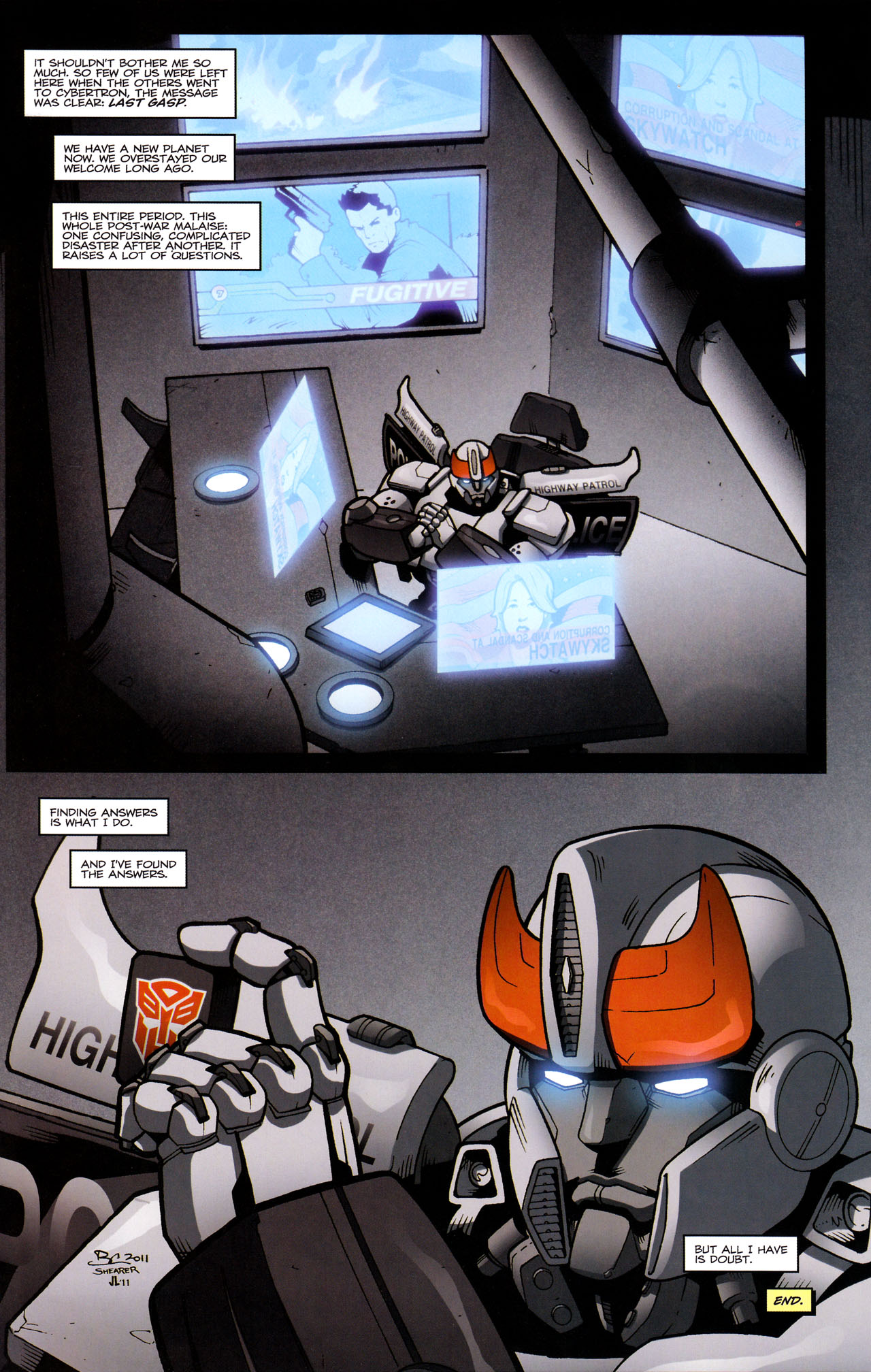 Read online The Transformers (2009) comic -  Issue #29 - 25