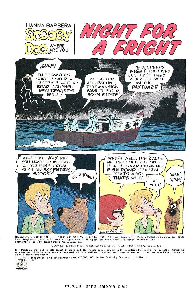 Read online Scooby-Doo... Where Are You! (1970) comic -  Issue #8 - 3