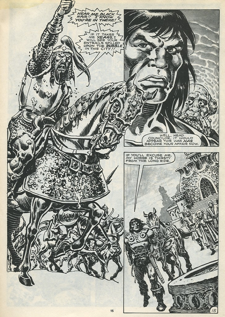 The Savage Sword Of Conan Issue #173 #174 - English 17