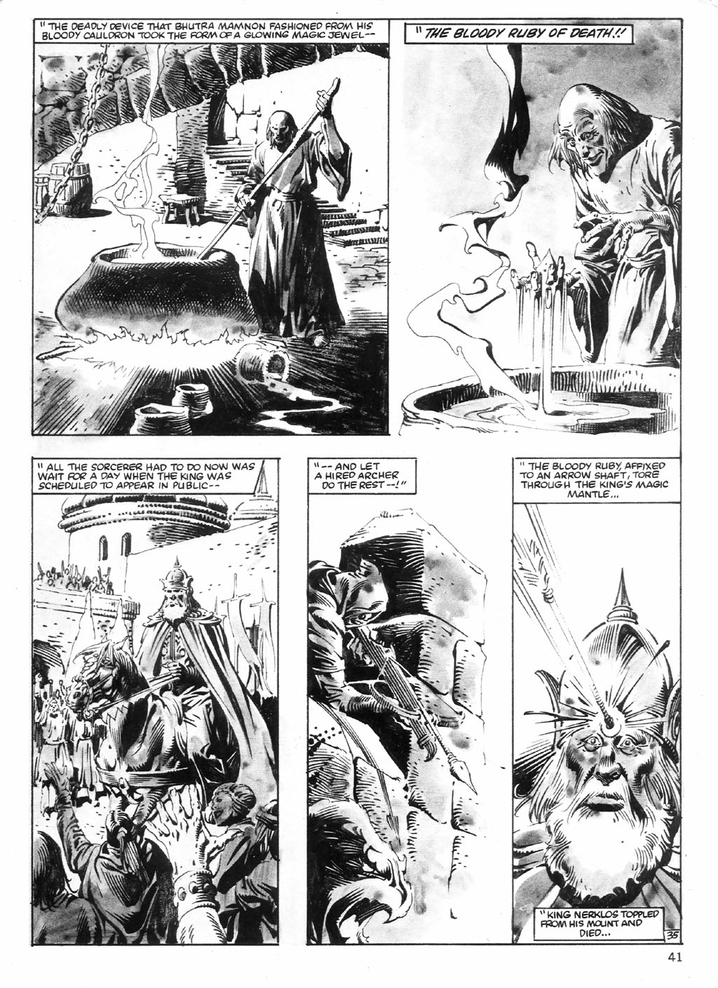 The Savage Sword Of Conan Issue #98 #99 - English 41