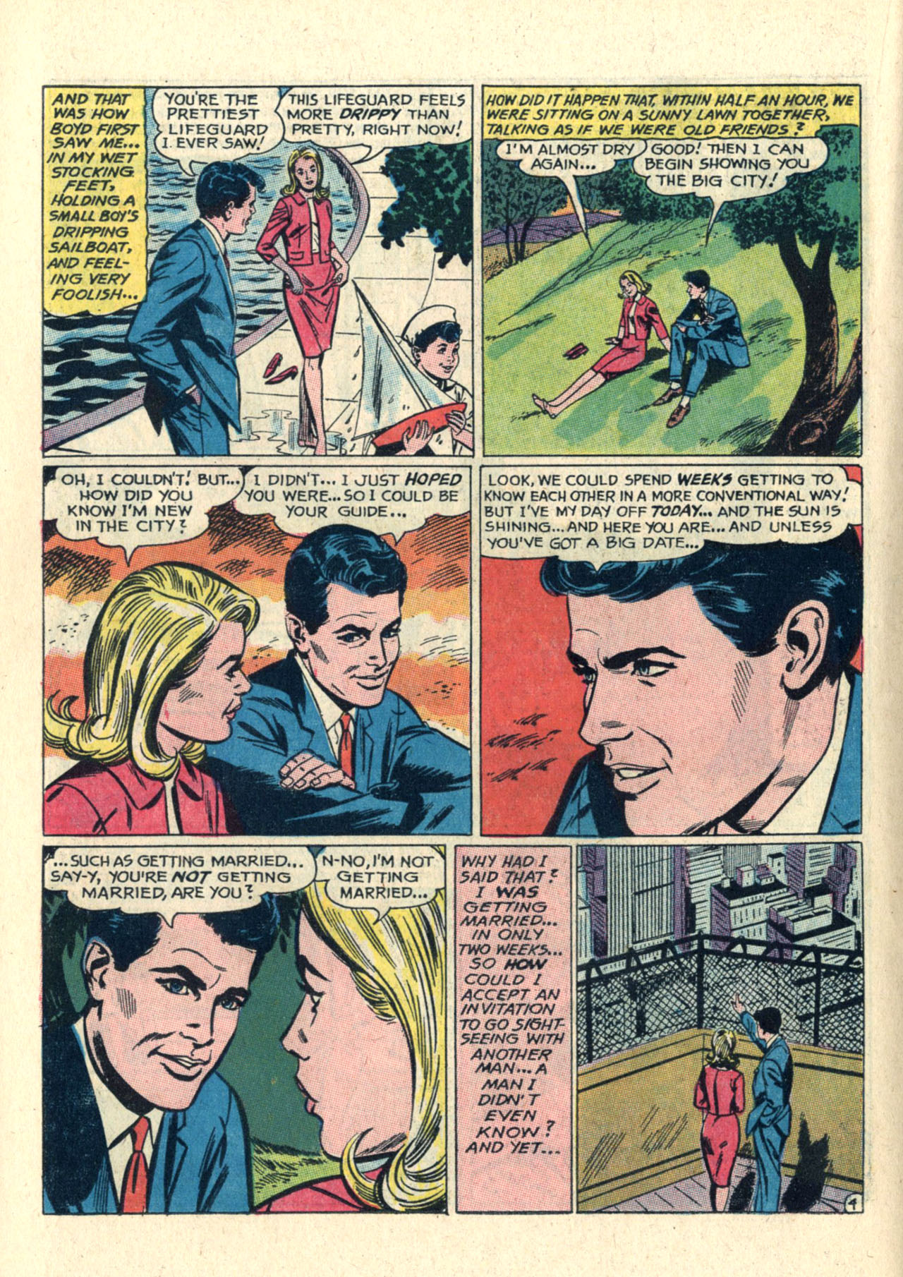 Read online Secret Hearts comic -  Issue #112 - 14