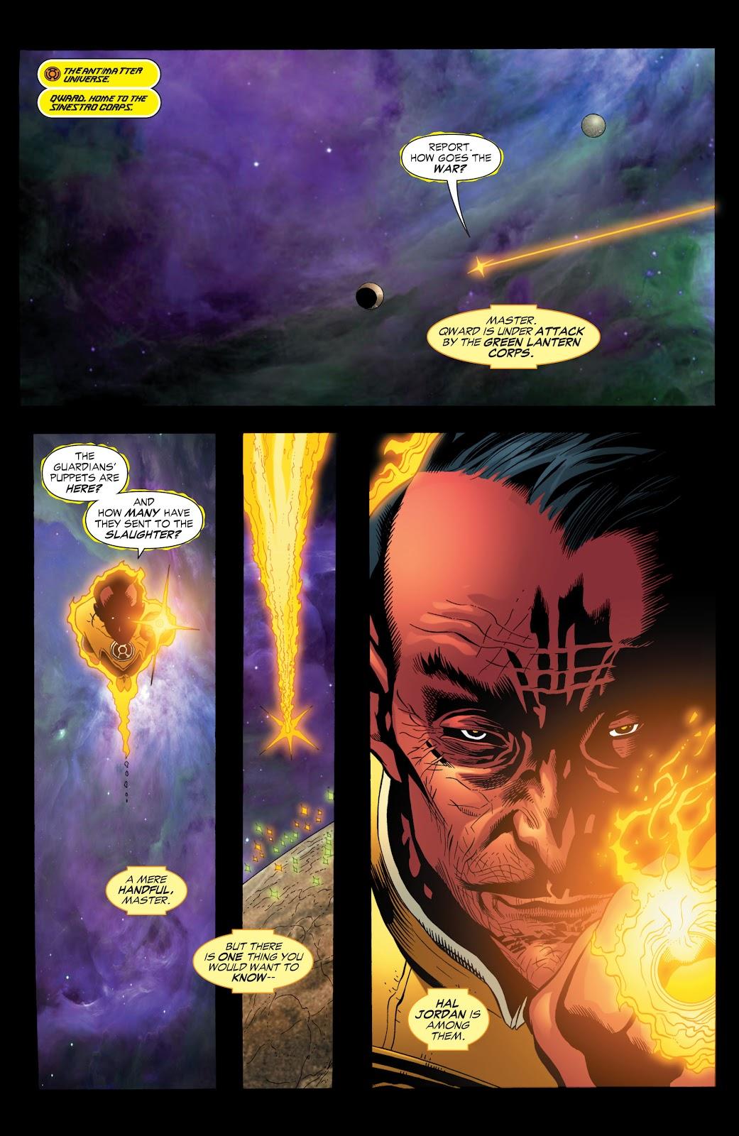 Green Lantern: The Sinestro Corps War Full #1 - English 89