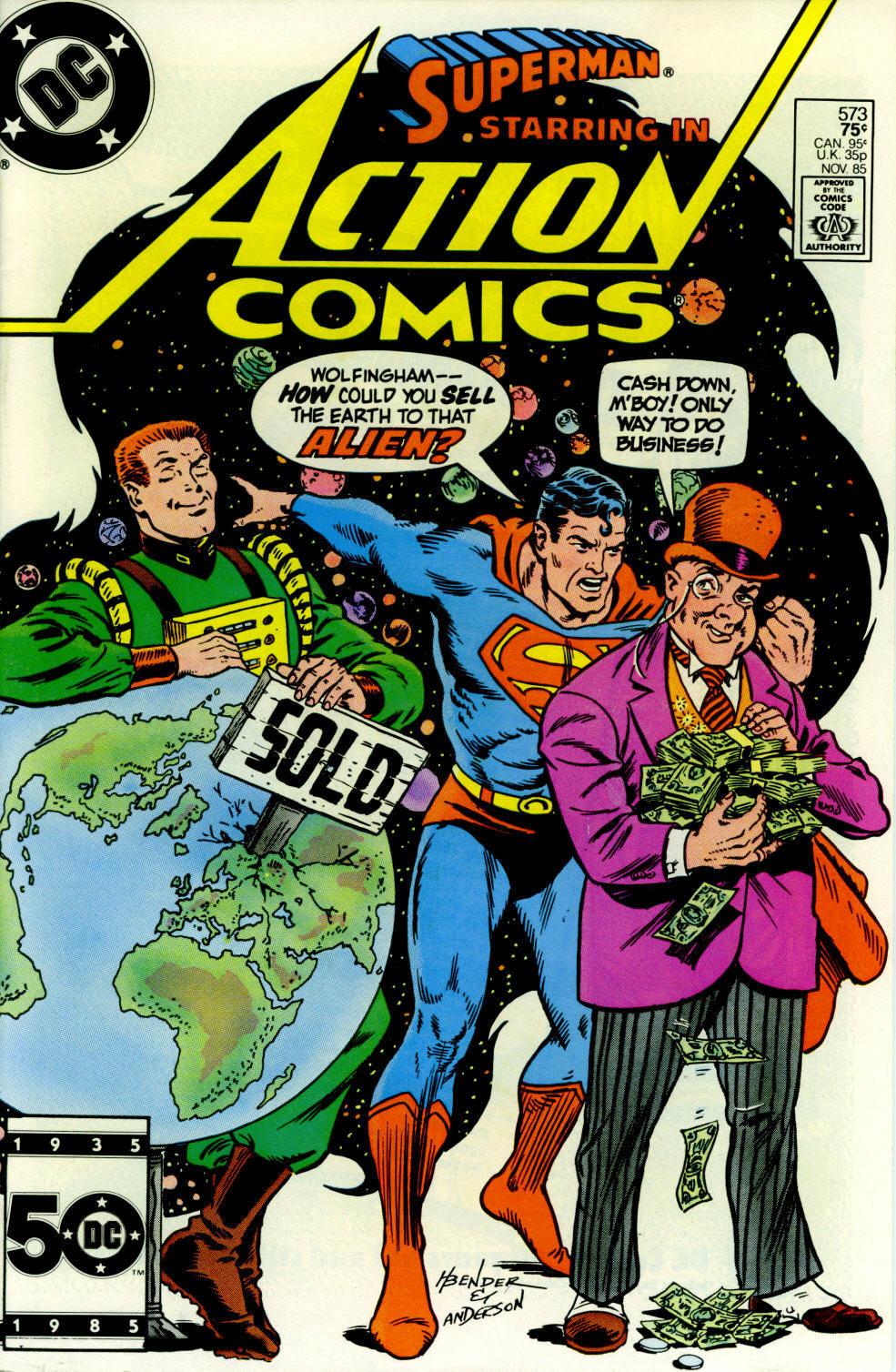 Action Comics (1938) 573 Page 1