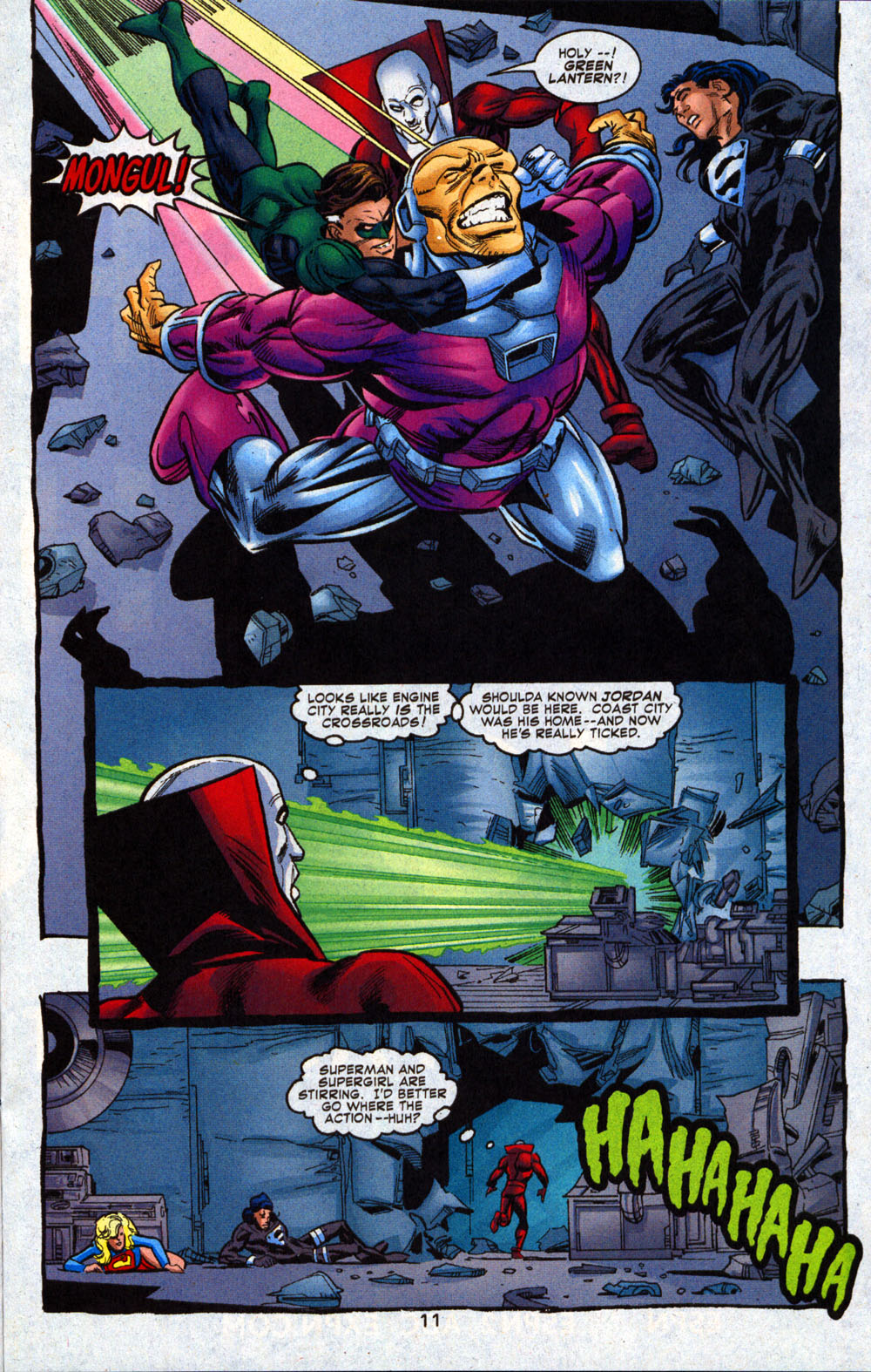 Read online Deadman: Dead Again comic -  Issue #4 - 12