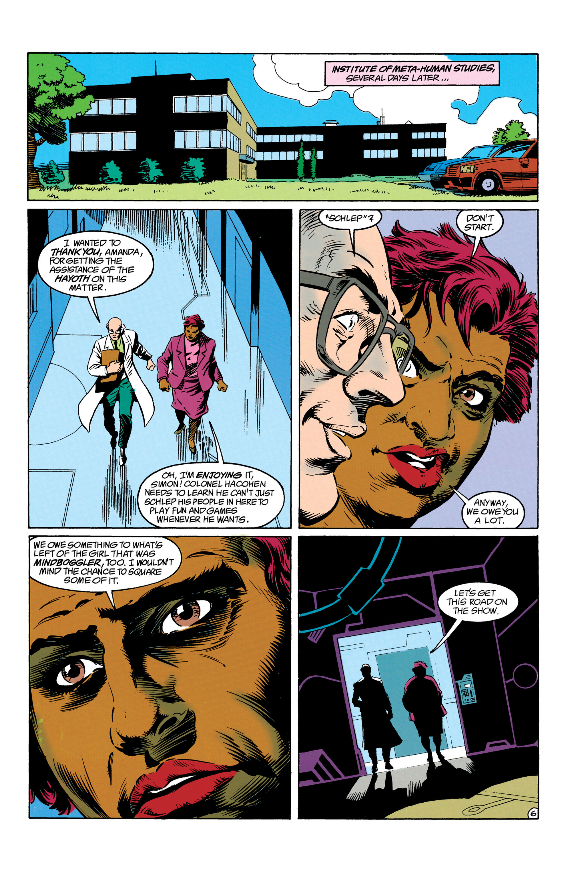 Read online Suicide Squad (1987) comic -  Issue #63 - 7