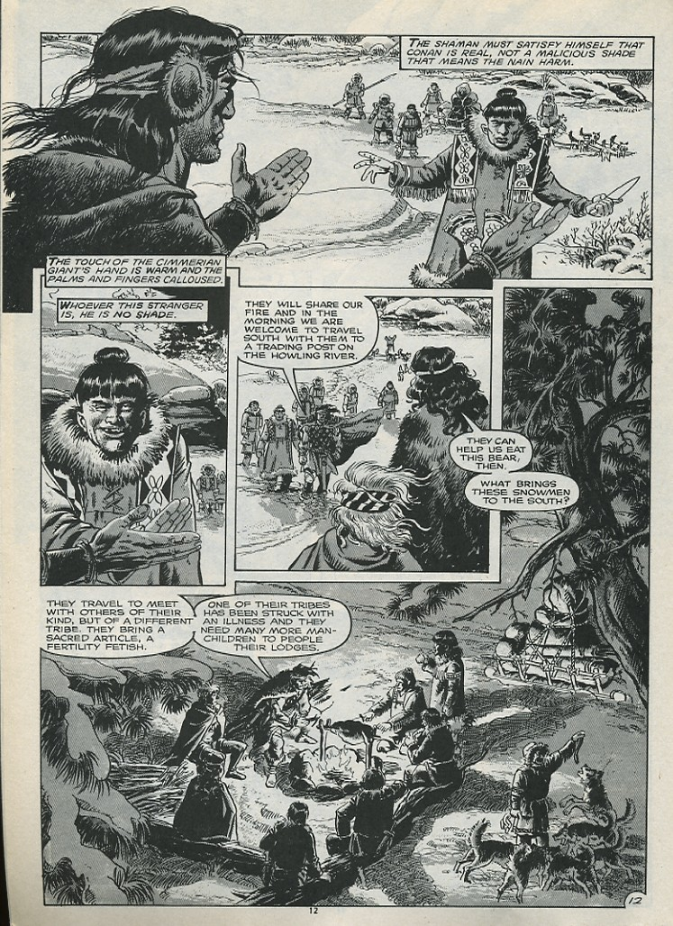 The Savage Sword Of Conan Issue #179 #180 - English 14