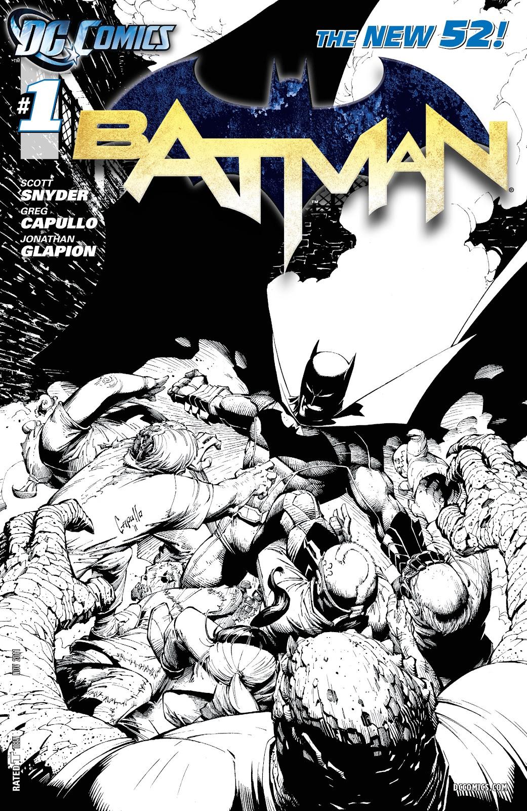 Batman (2011) Issue #1 #16 - English 25