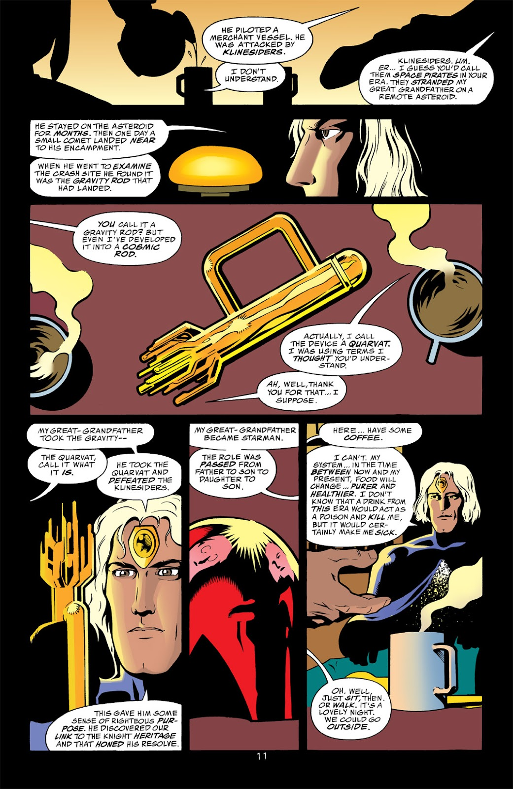 Starman (1994) Issue #1000000 #83 - English 11