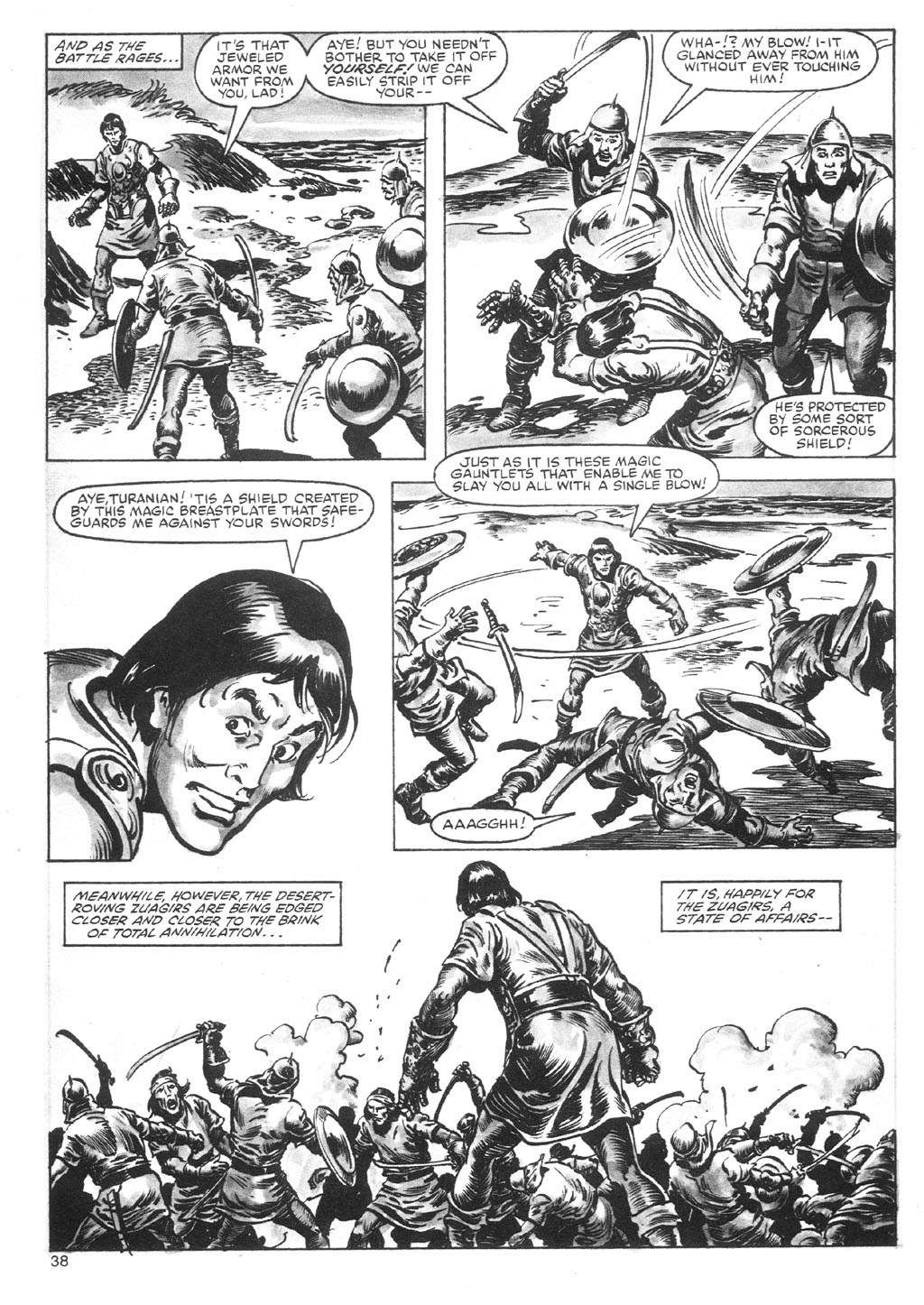 The Savage Sword Of Conan Issue #87 #88 - English 38