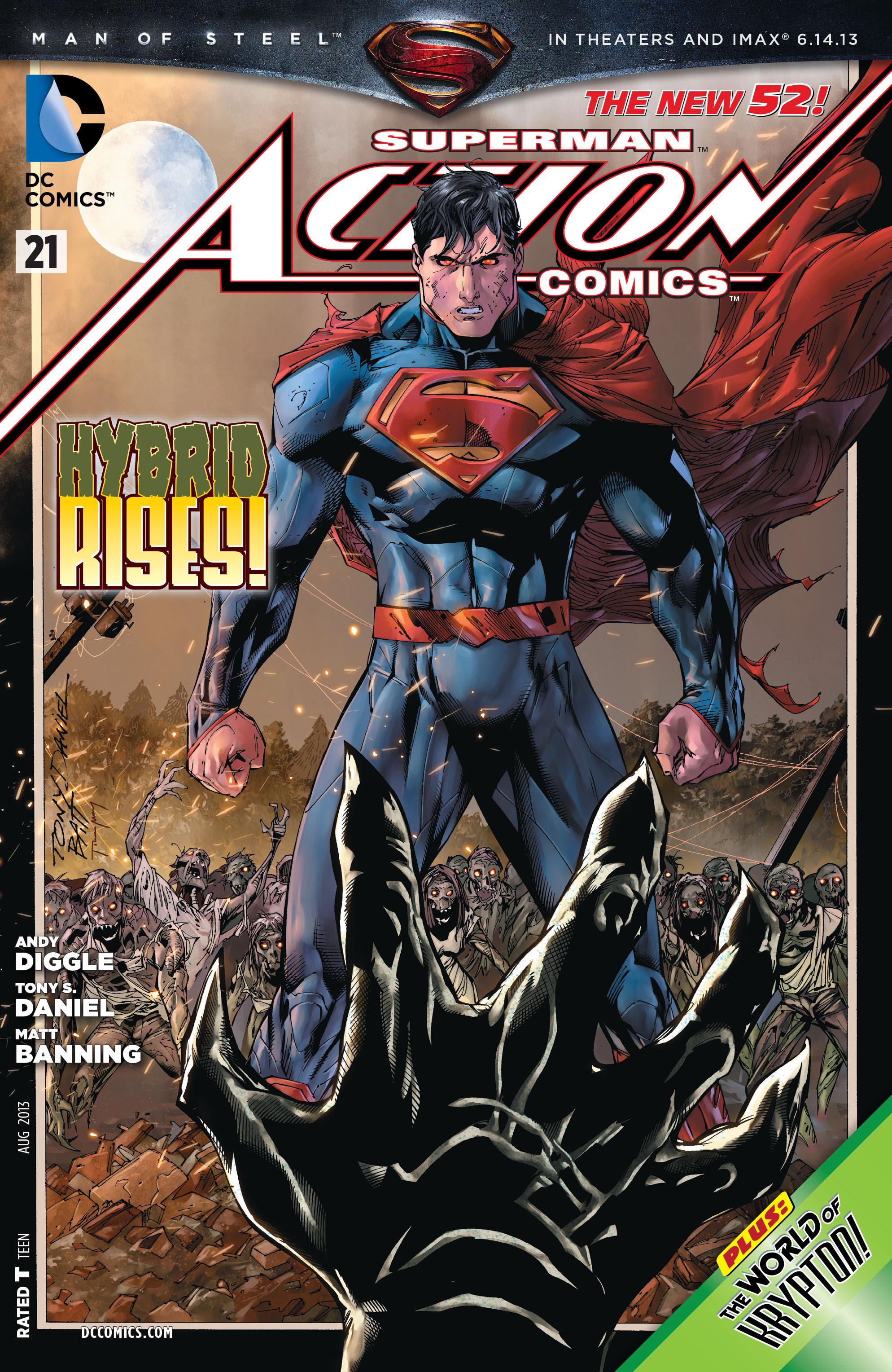Action Comics (2011) 21 Page 1
