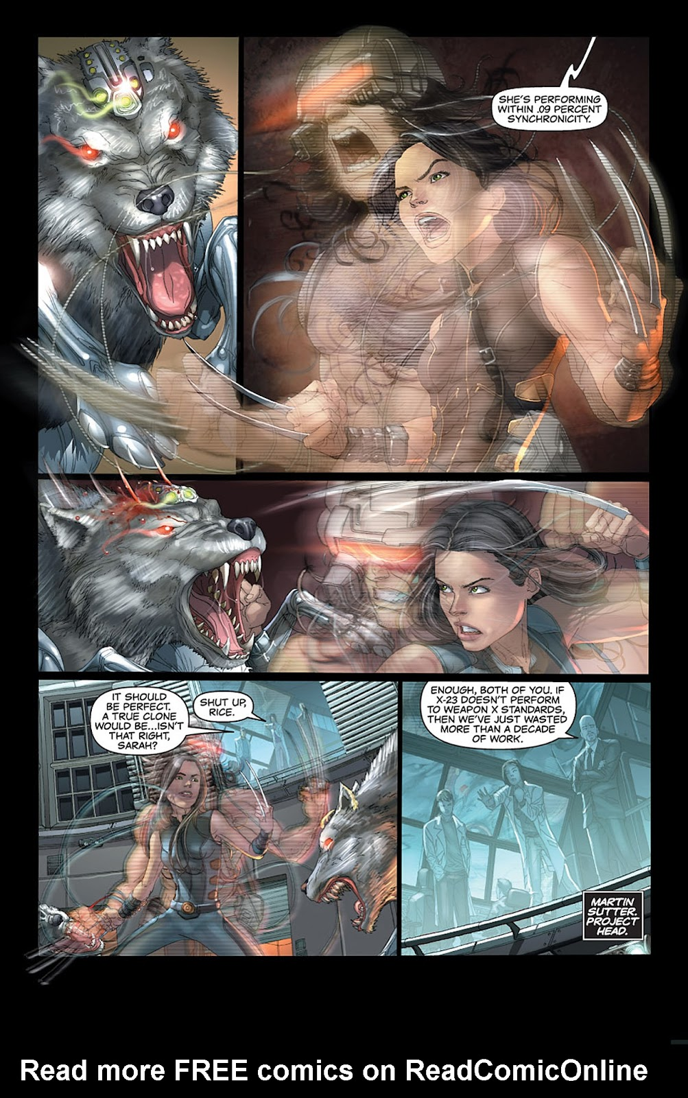X-23: Target X Issue #1 #1 - English 4