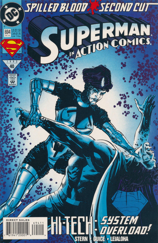 Action Comics (1938) 694 Page 1