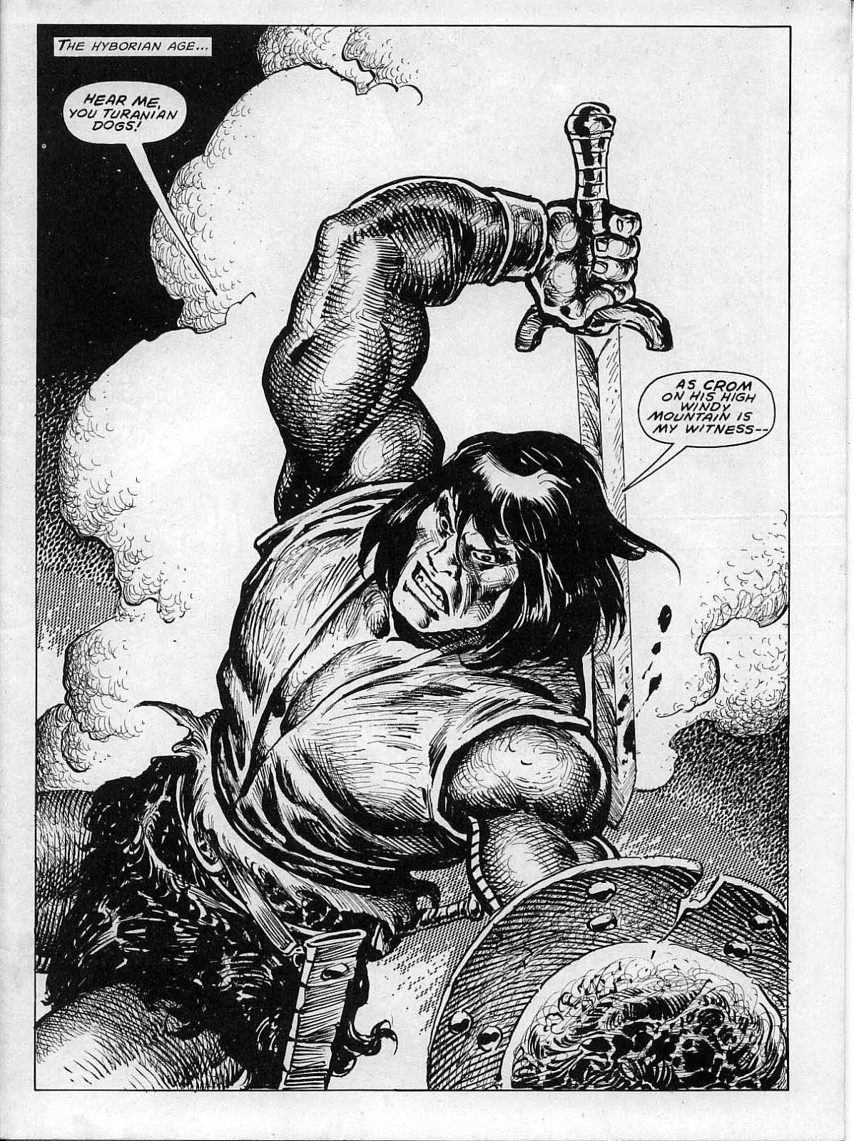 The Savage Sword Of Conan Issue #200 #201 - English 3