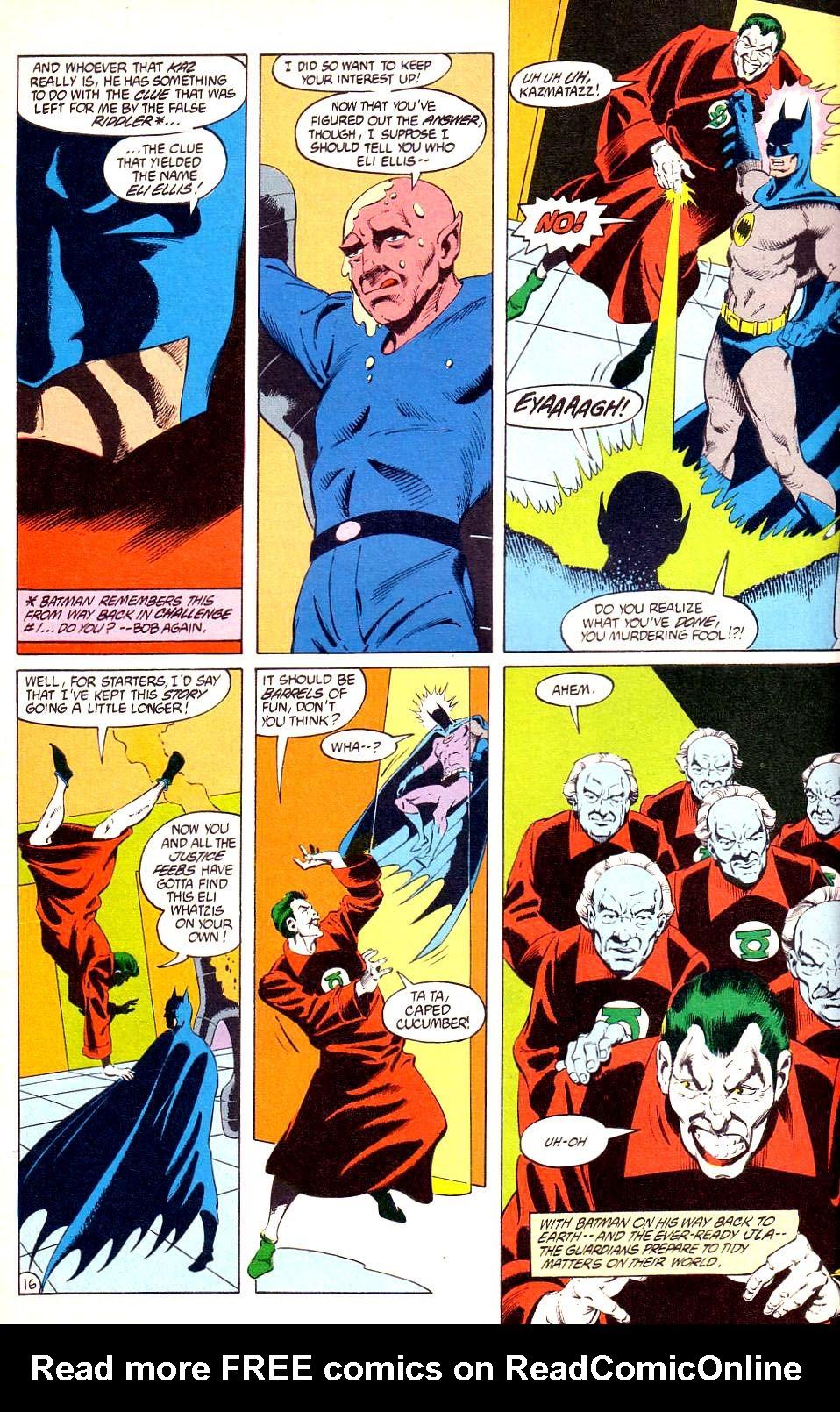DC Challenge #12 #12 - English 17