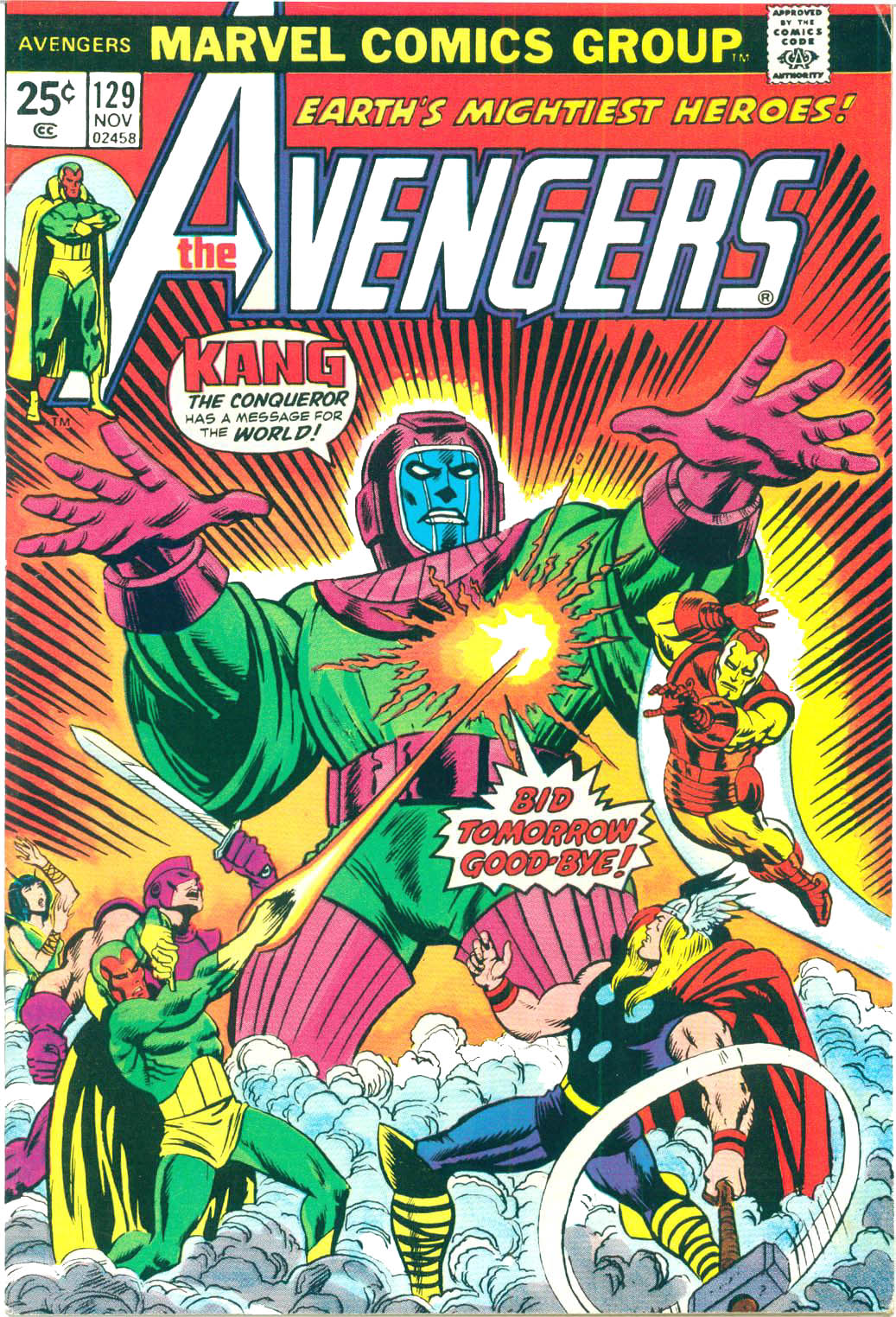 The Avengers (1963) 129 Page 1