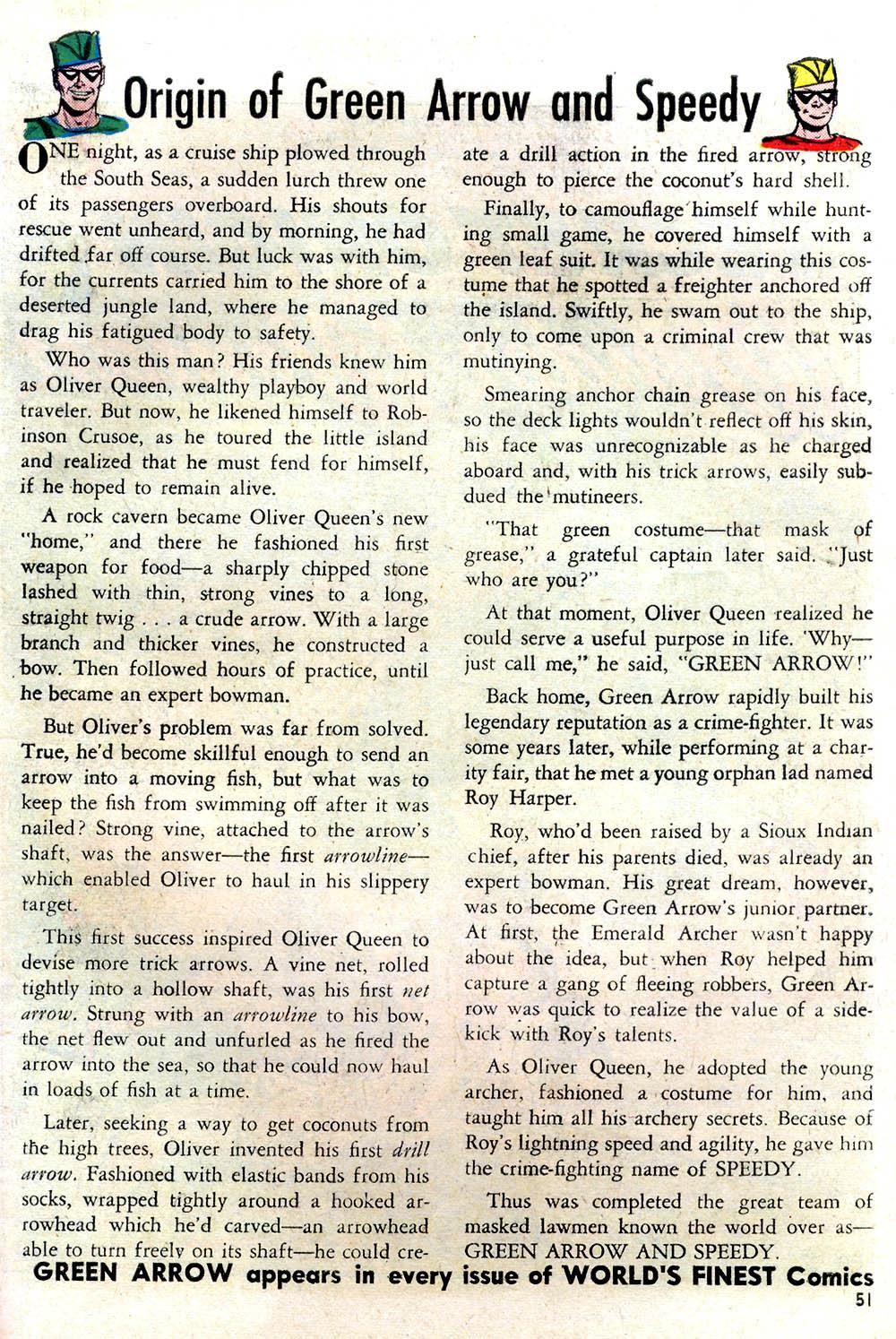 Read online Secret Origins (1961) comic -  Issue # Full - 42