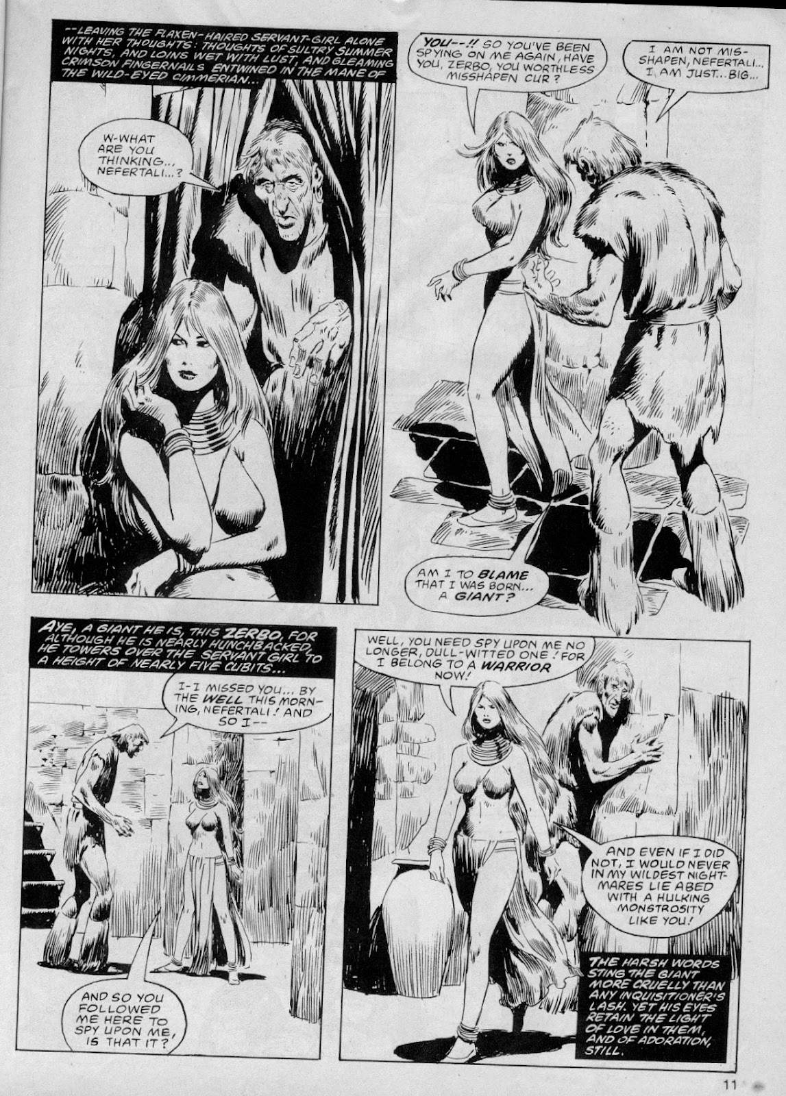 The Savage Sword Of Conan Issue #61 #62 - English 11