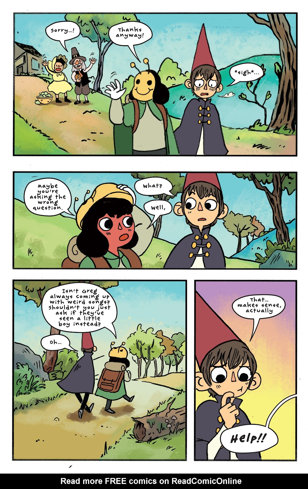 Over the Garden Wall (2016) Issue #11 #11 - English 14