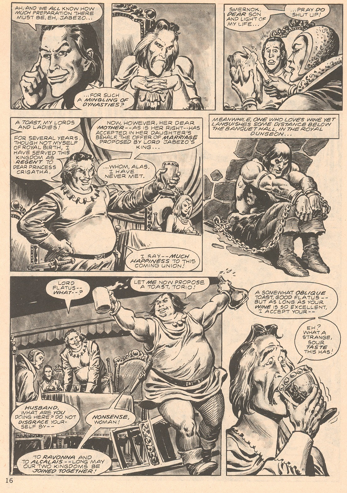 The Savage Sword Of Conan Issue #66 #67 - English 16