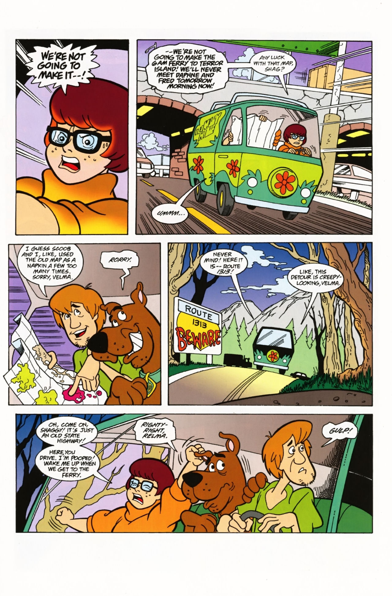 Read online Scooby-Doo: Where Are You? comic -  Issue #3 - 3
