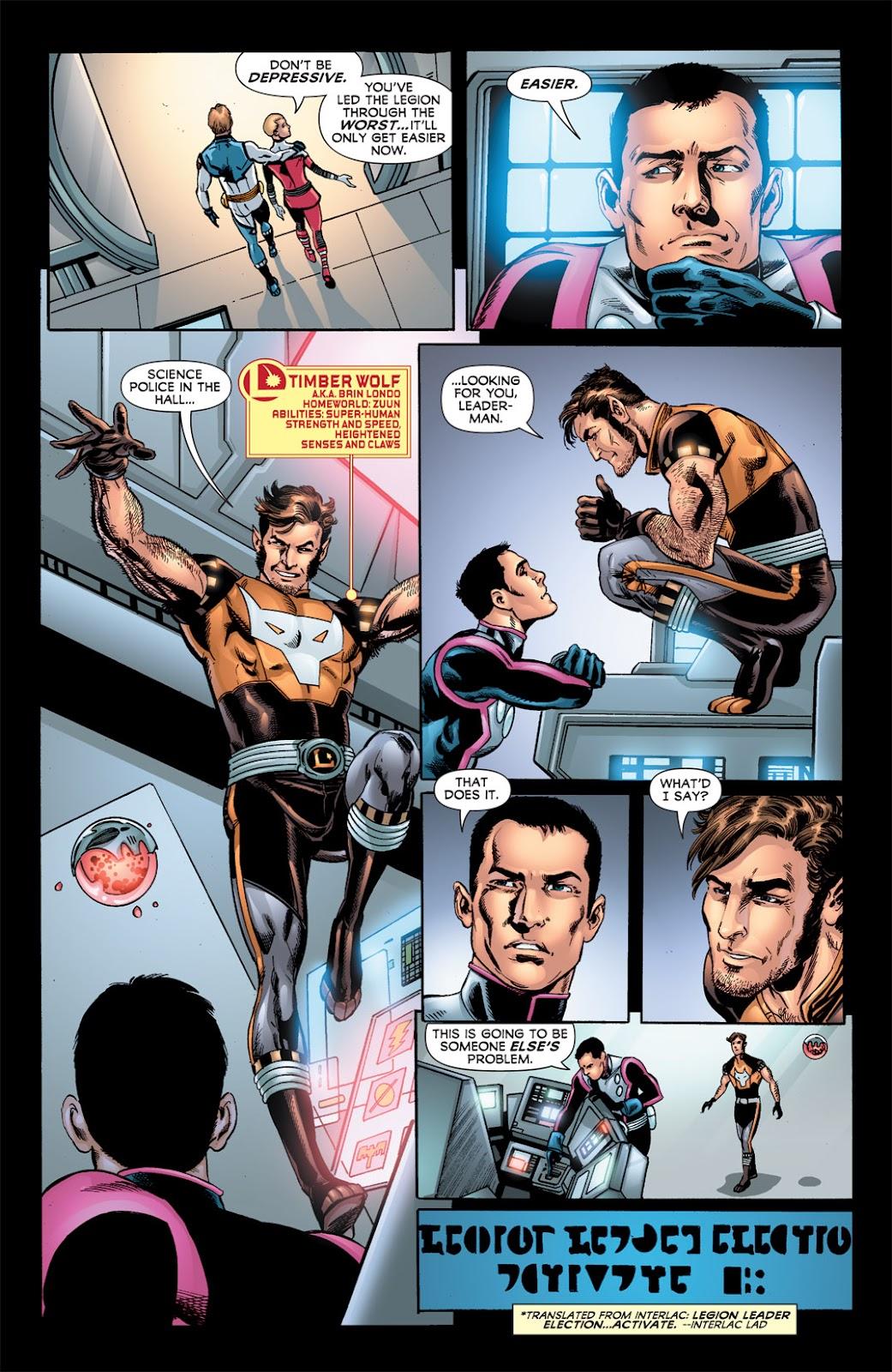 Legion of Super-Heroes (2010) Issue #6 #7 - English 30