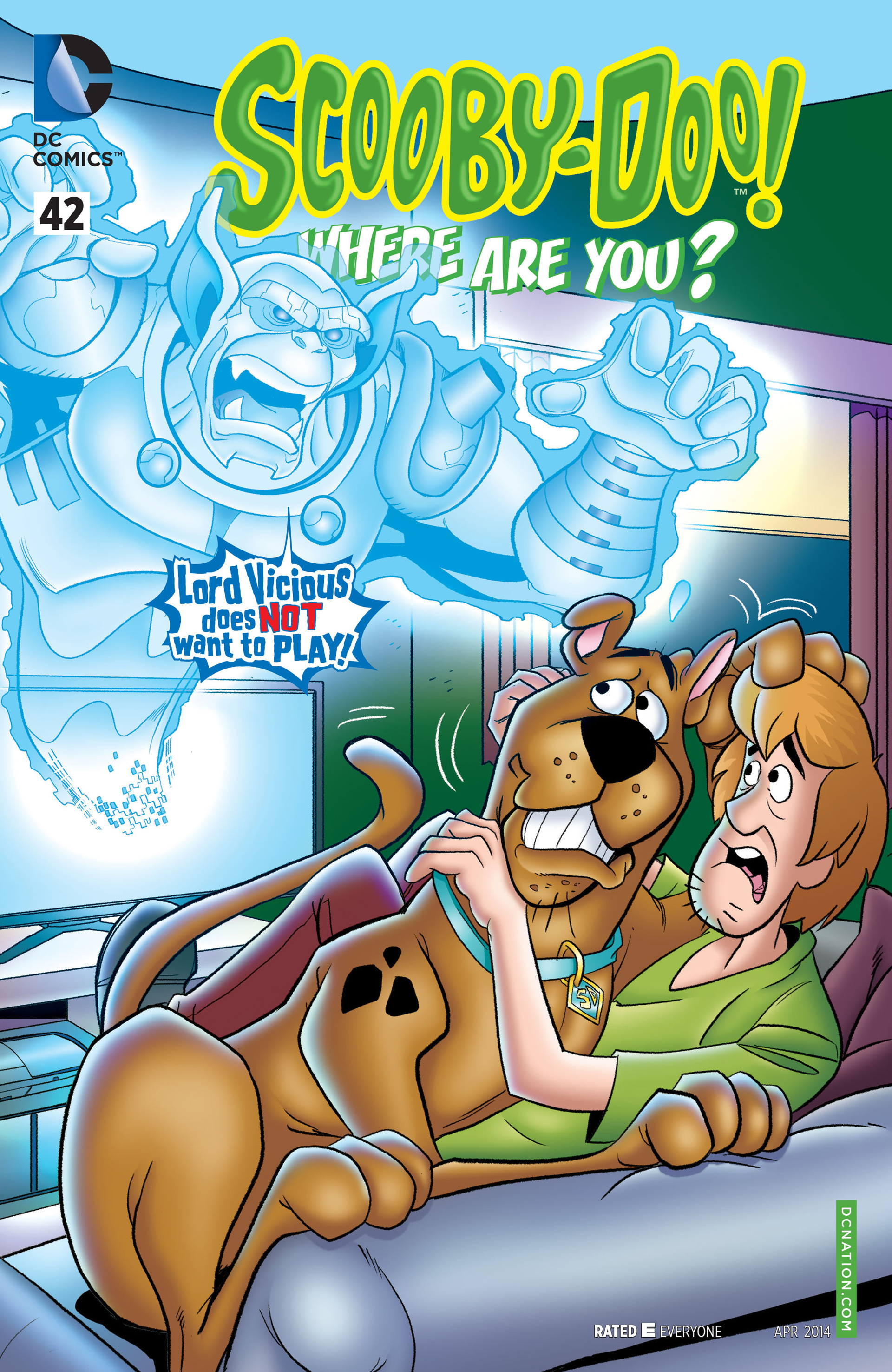 Read online Scooby-Doo: Where Are You? comic -  Issue #42 - 1