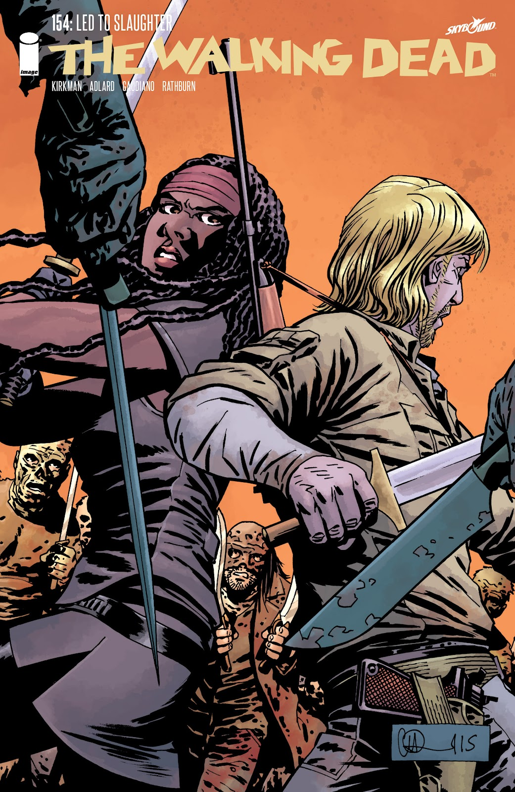 The Walking Dead Issue #154 Page 1