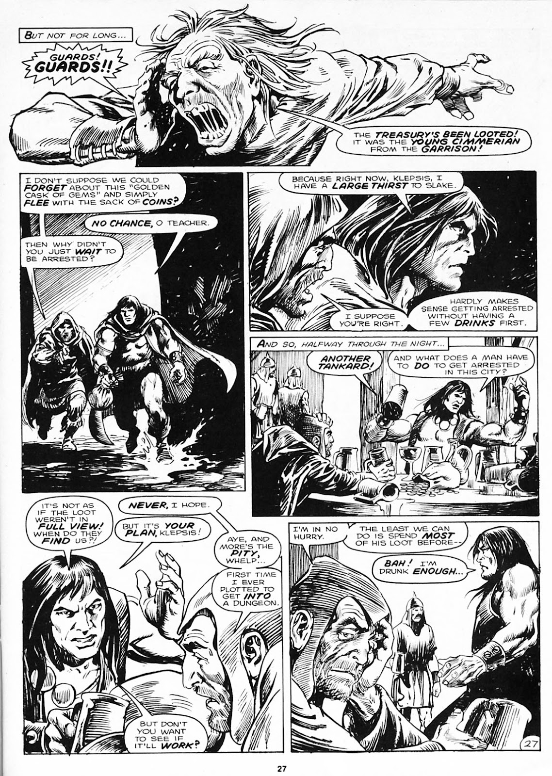 The Savage Sword Of Conan Issue #180 #181 - English 29
