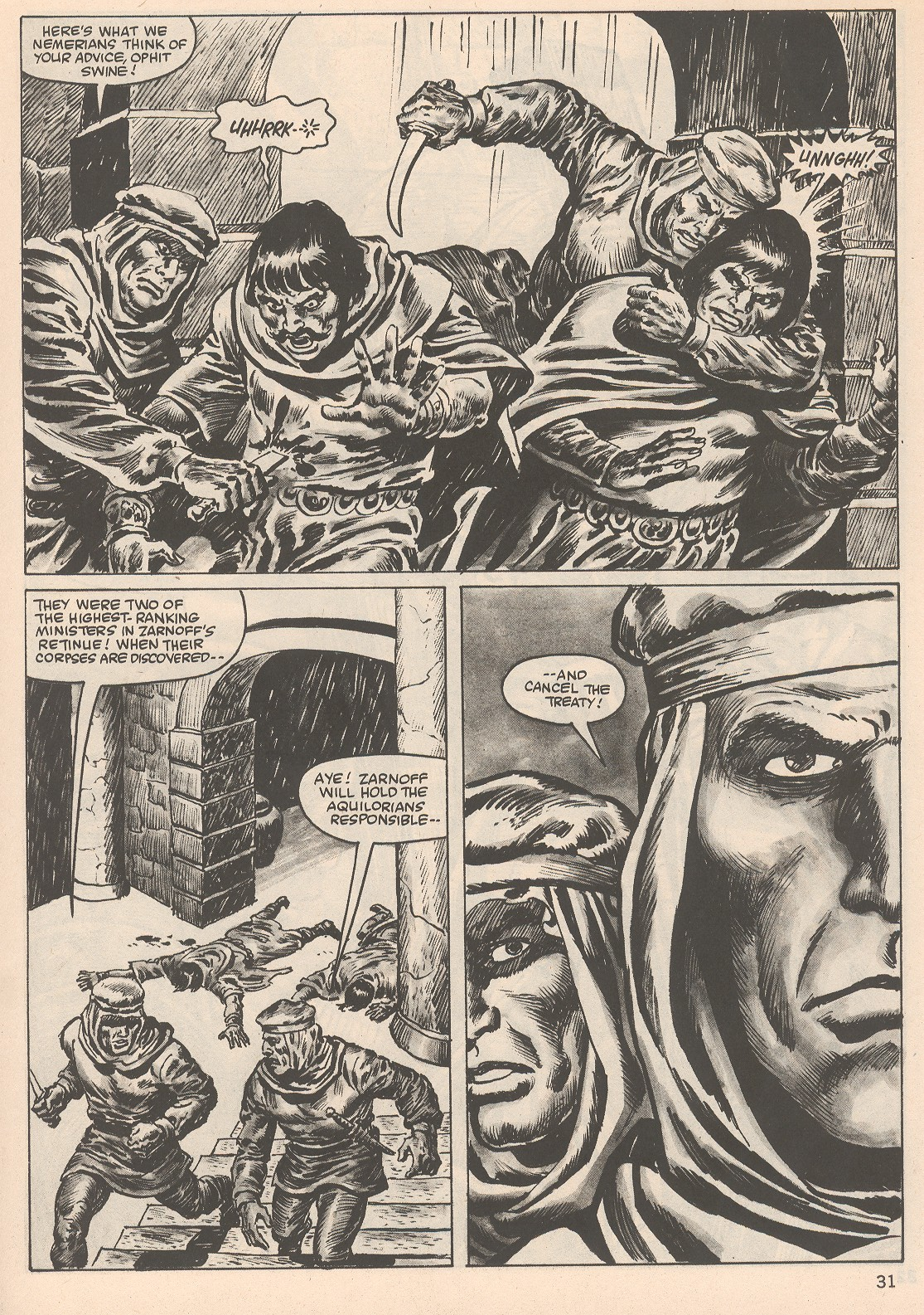 The Savage Sword Of Conan Issue #104 #105 - English 31