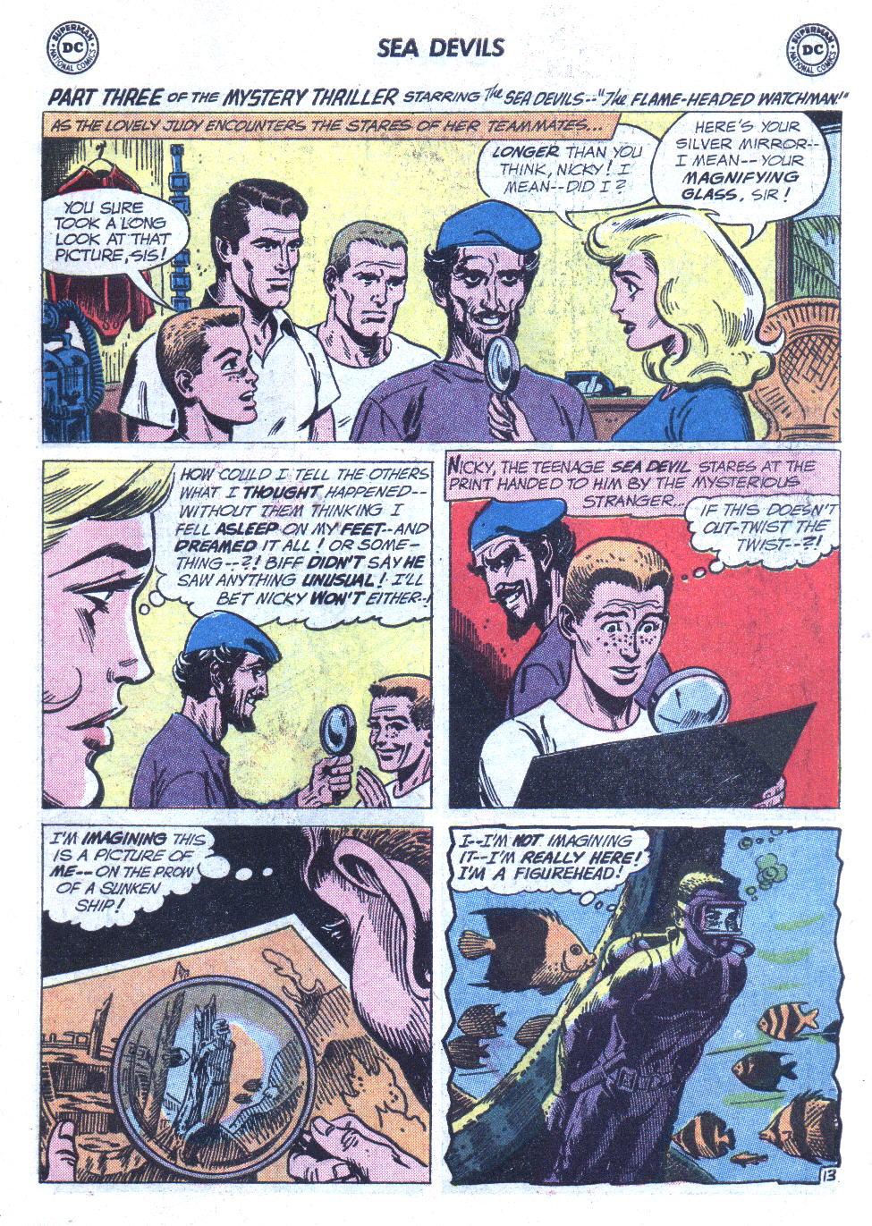 Read online Sea Devils comic -  Issue #6 - 20