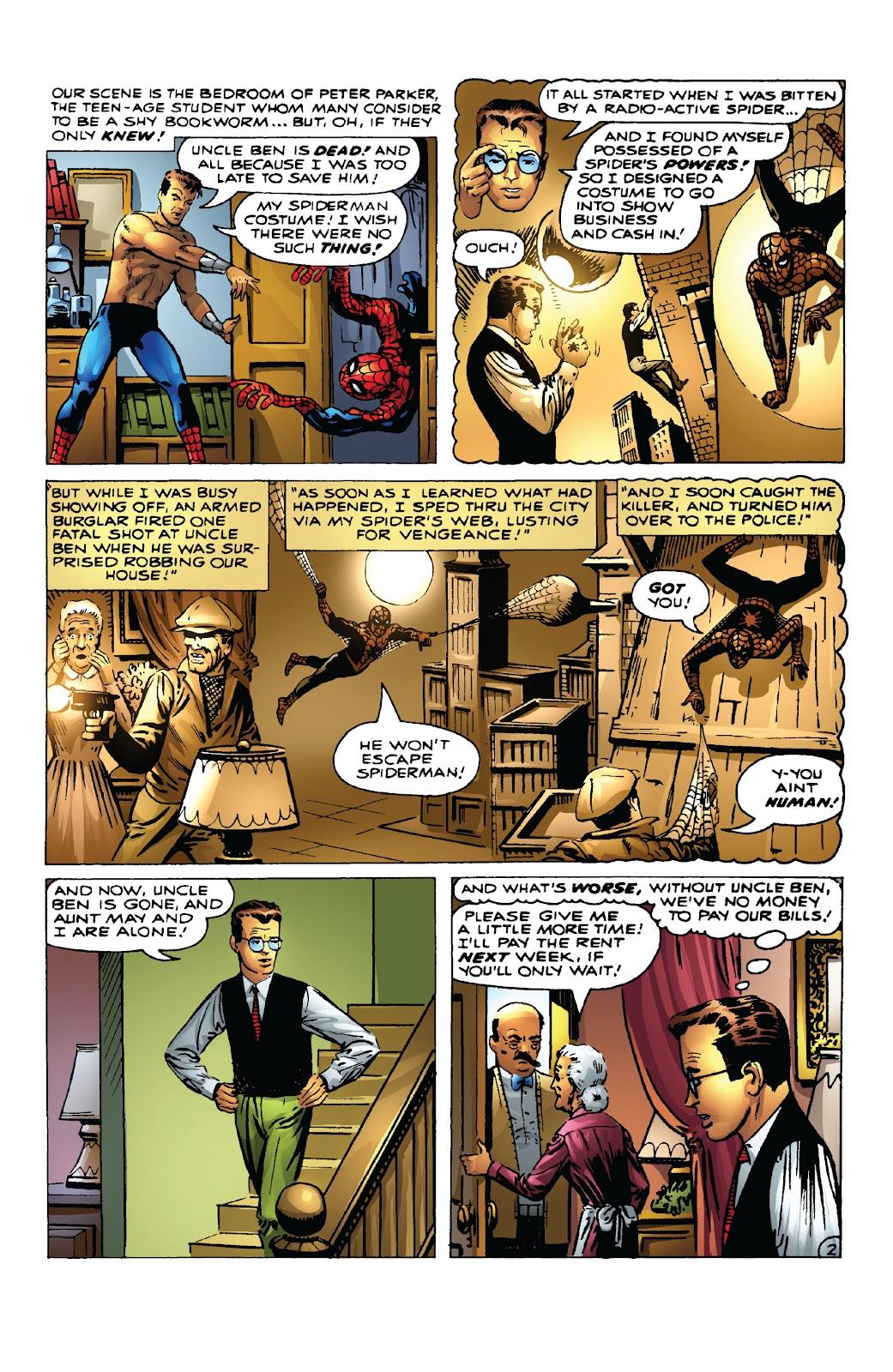 Amazing Fantasy #15: Spider-Man! Full #1 - English 17