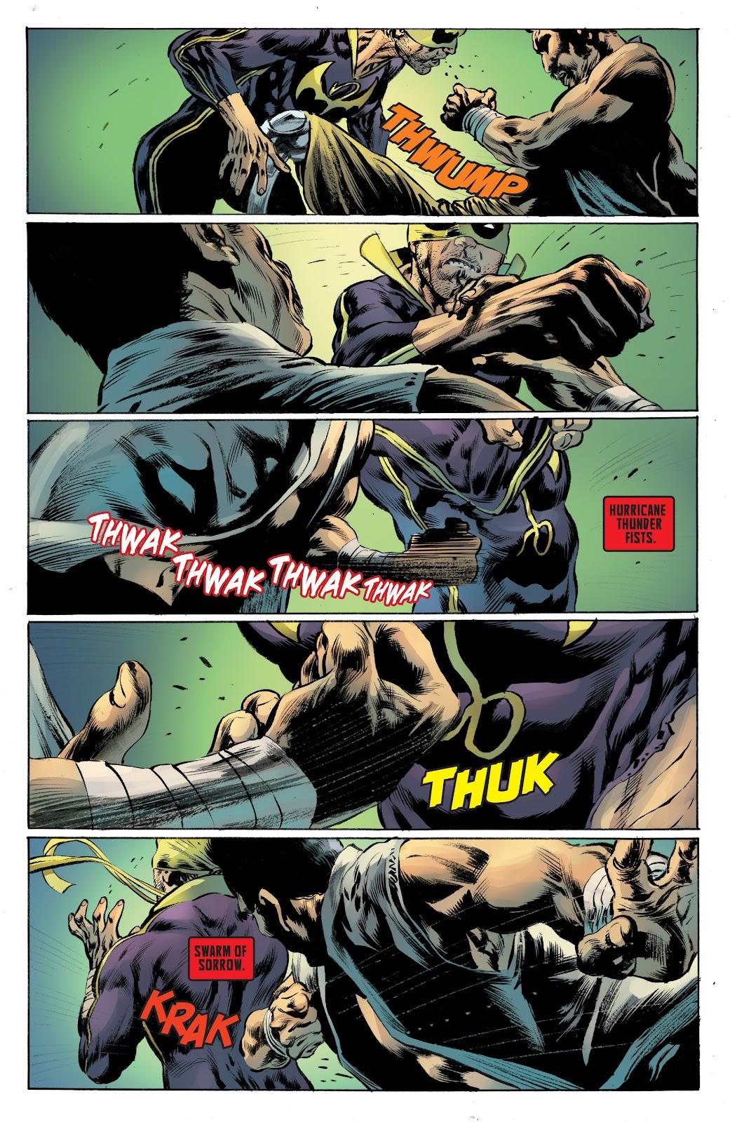 Iron Fist (2017) Issue #4 #4 - English 15