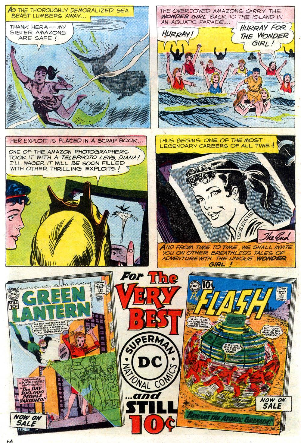 Read online Secret Origins (1961) comic -  Issue # Full - 54