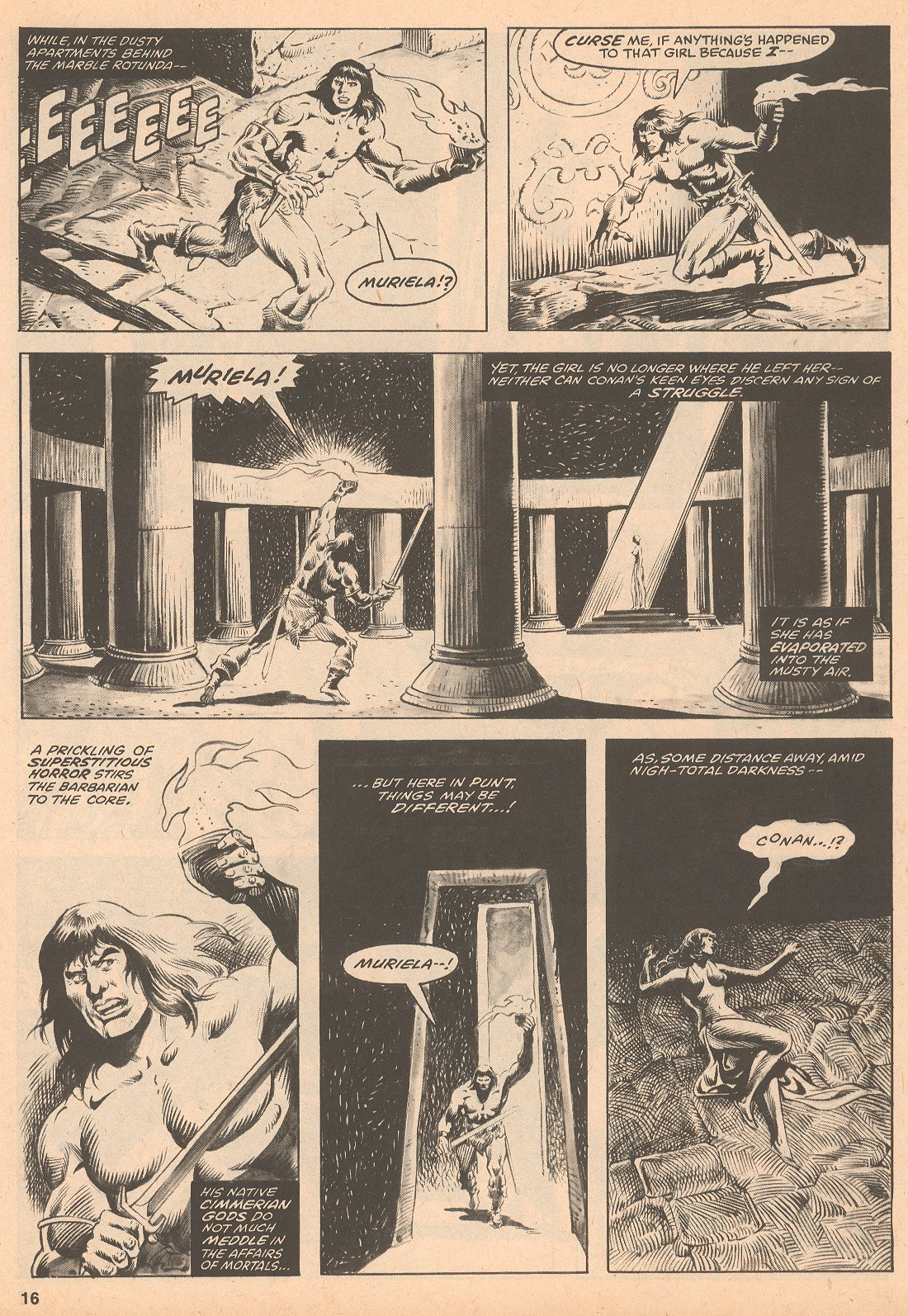 The Savage Sword Of Conan Issue #60 #61 - English 16