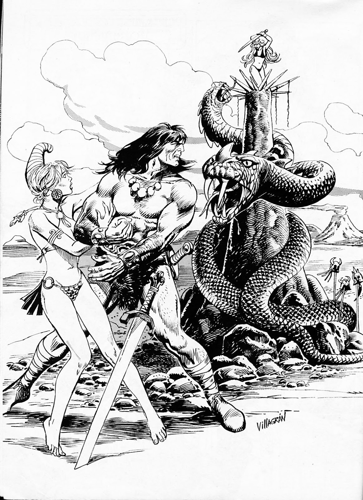 The Savage Sword Of Conan Issue #186 #187 - English 53
