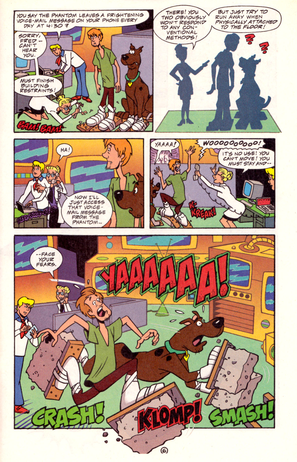 Read online Scooby-Doo (1997) comic -  Issue #11 - 21