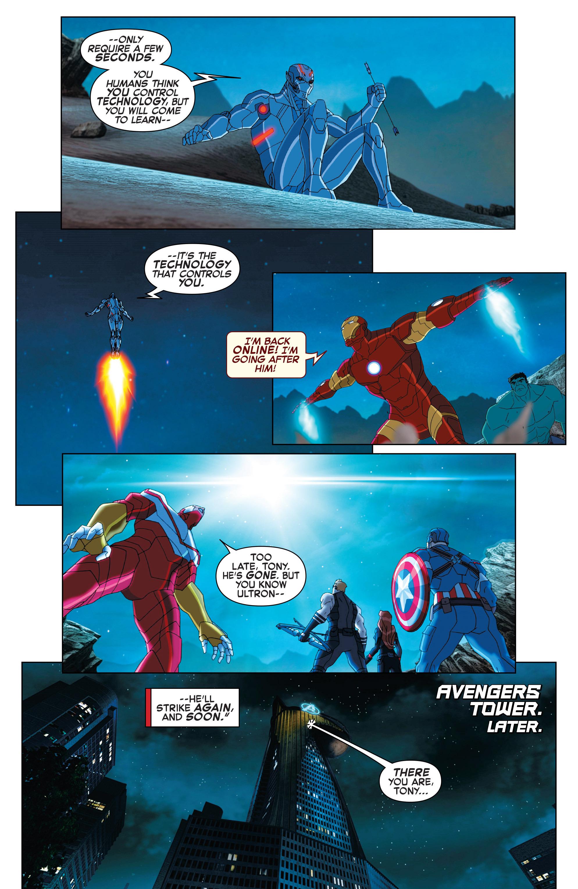 Read online Marvel Universe Avengers: Ultron Revolution comic -  Issue #2 - 5