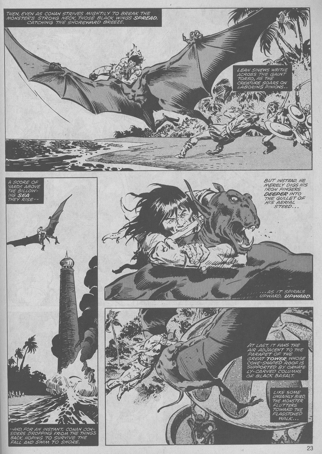 The Savage Sword Of Conan Issue #45 #46 - English 23
