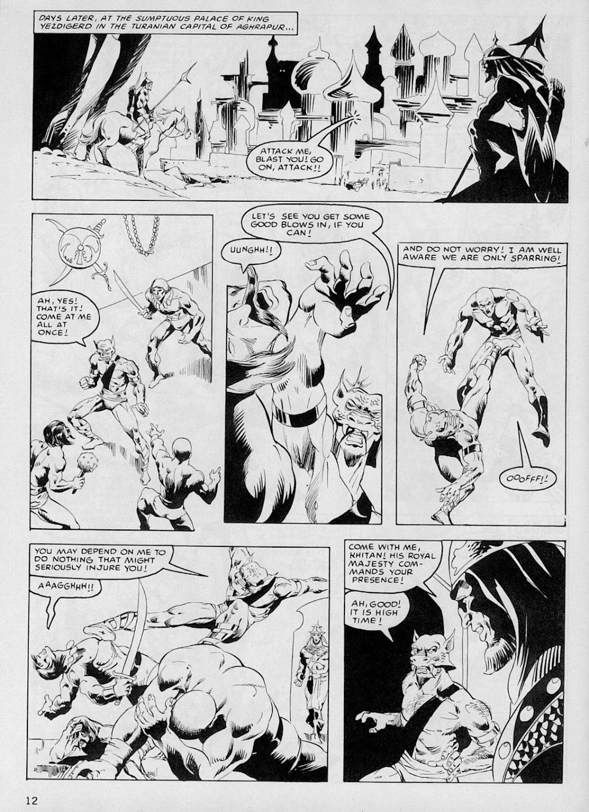 The Savage Sword Of Conan Issue #103 #104 - English 11