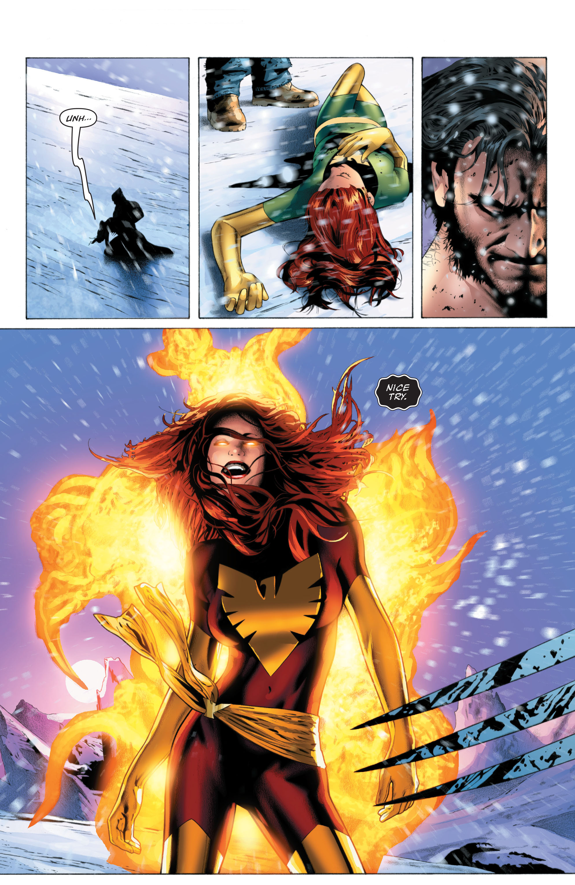 Read online X-Men: Phoenix - Endsong comic -  Issue #3 - 19
