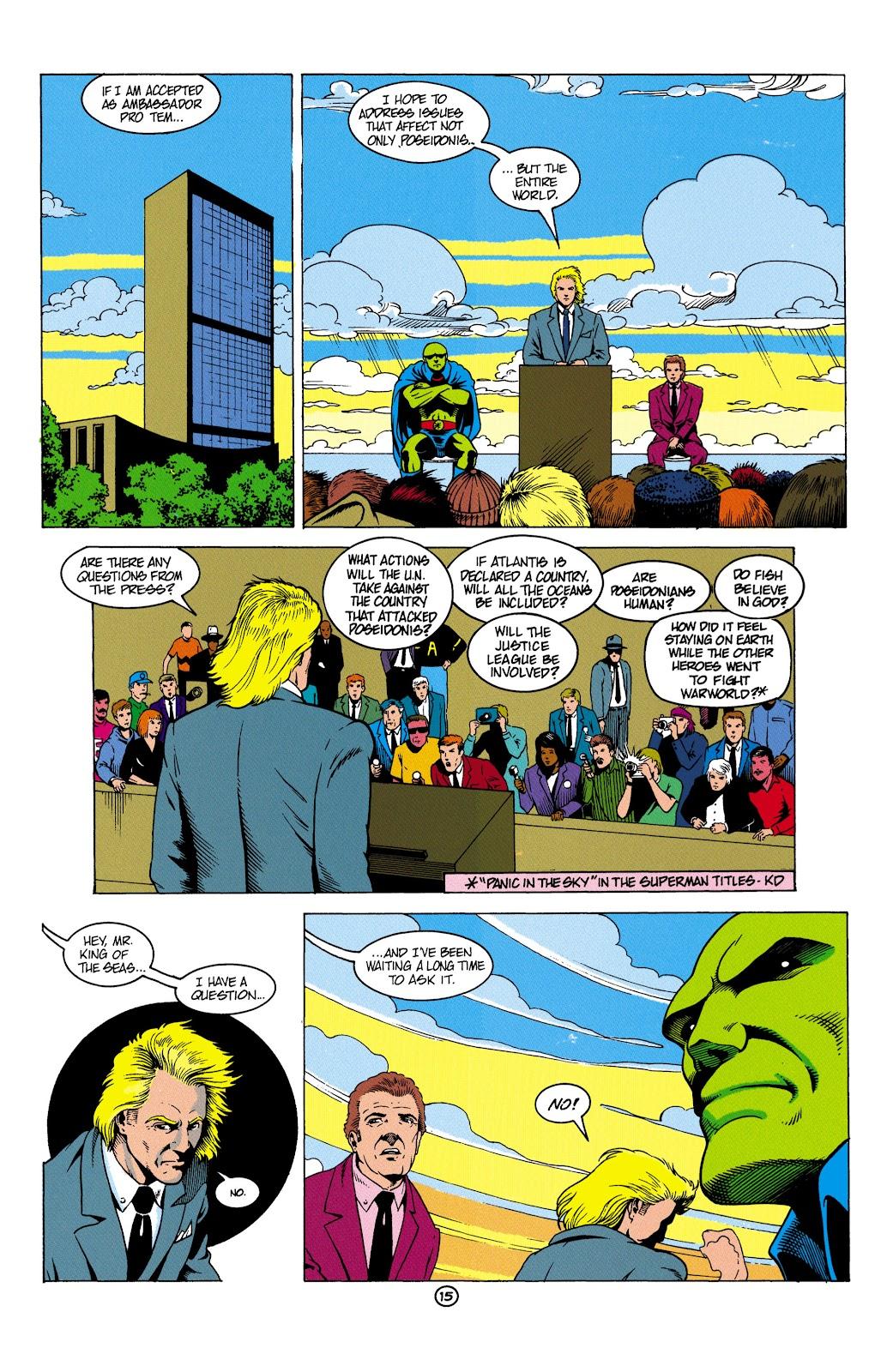 Aquaman (1991) Issue #5 #5 - English 16