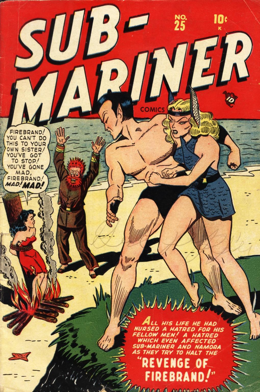Sub-Mariner Comics #25 #25 - English 1