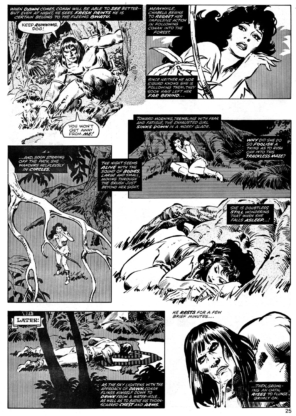 The Savage Sword Of Conan Issue #41 #42 - English 25