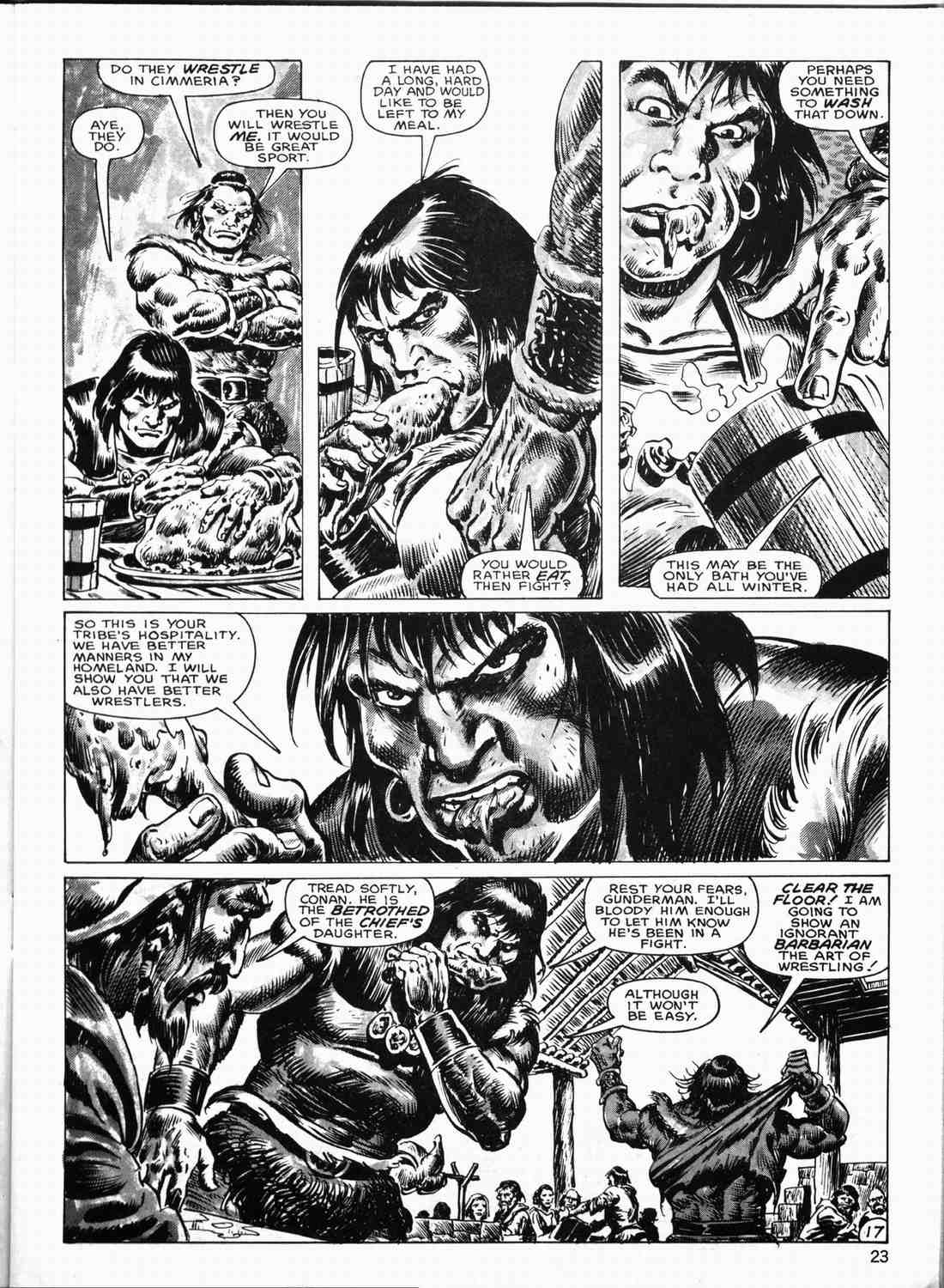 The Savage Sword Of Conan Issue #133 #134 - English 22