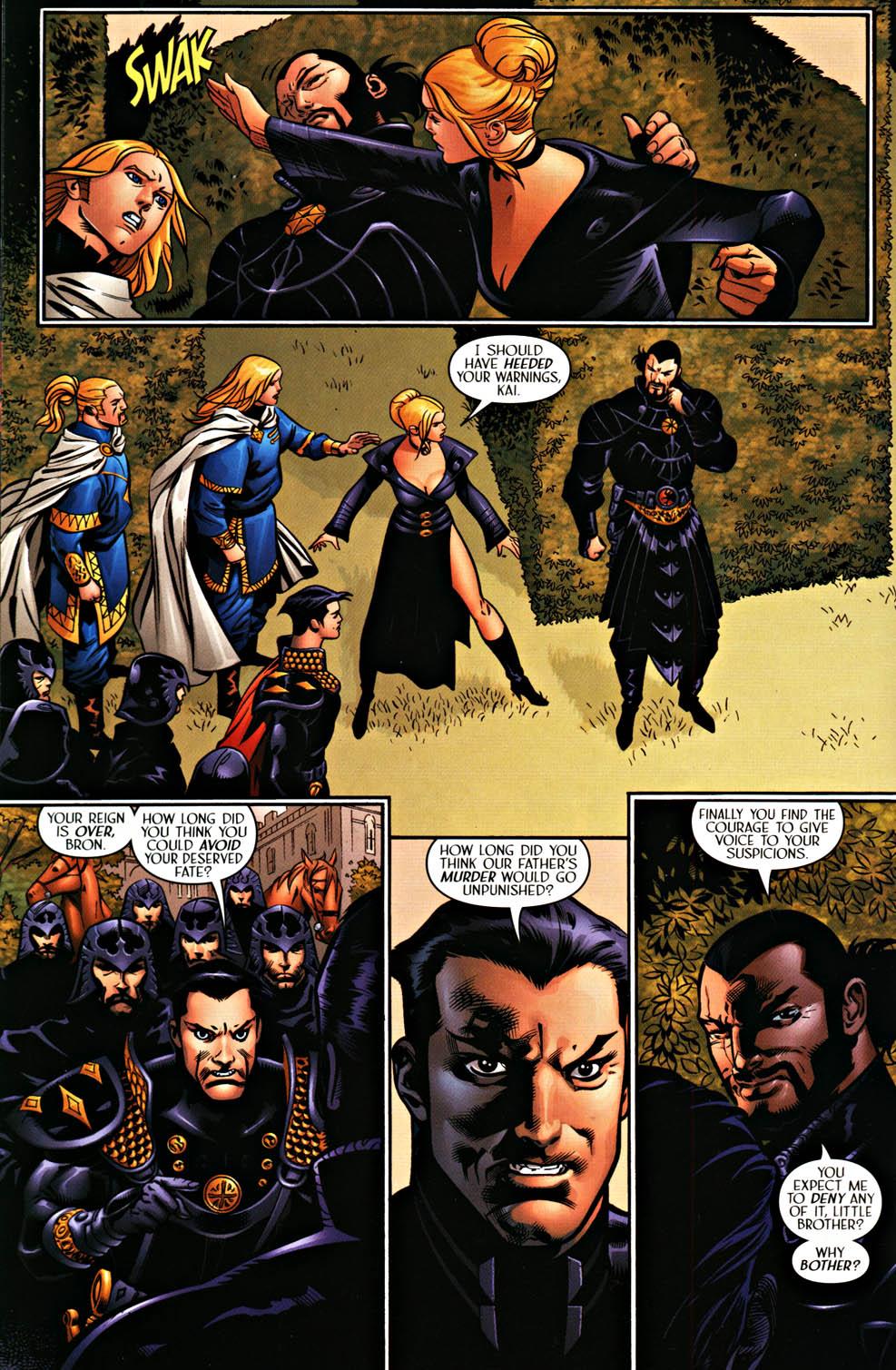 Read online Scion comic -  Issue #37 - 16
